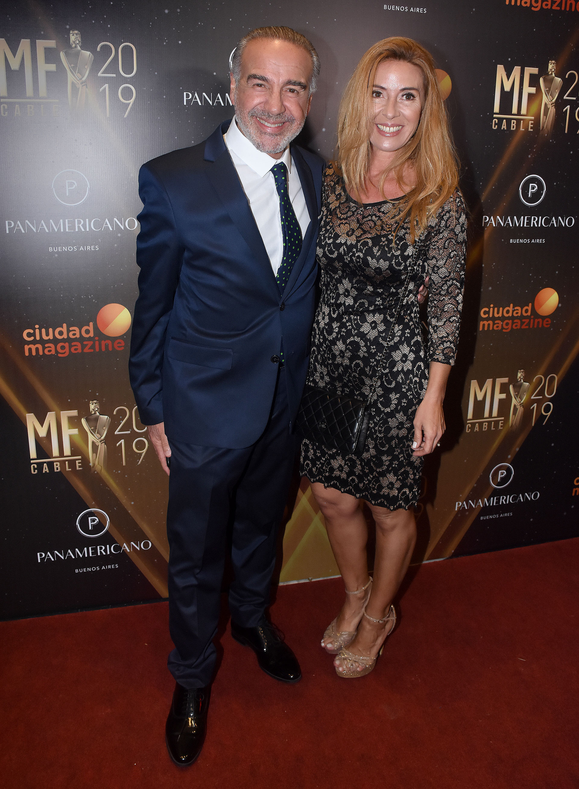 El doctor Guillermo Capuya y su esposa, Paula Herschel