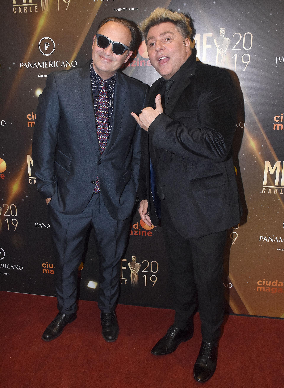 Augusto Tartufoli y Dani Ambrosino