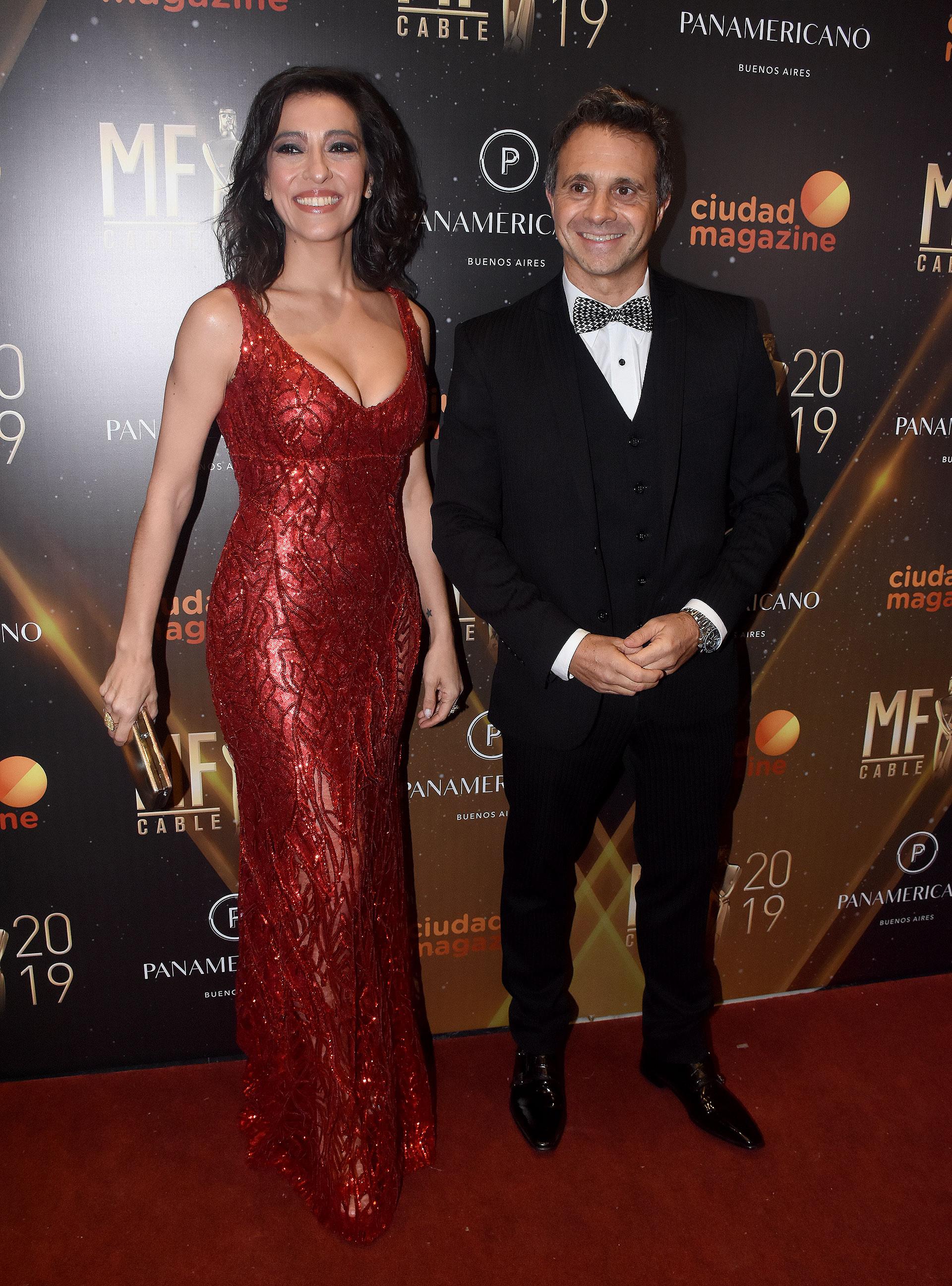 Roxana Vázquez y Sergio Lapegüe