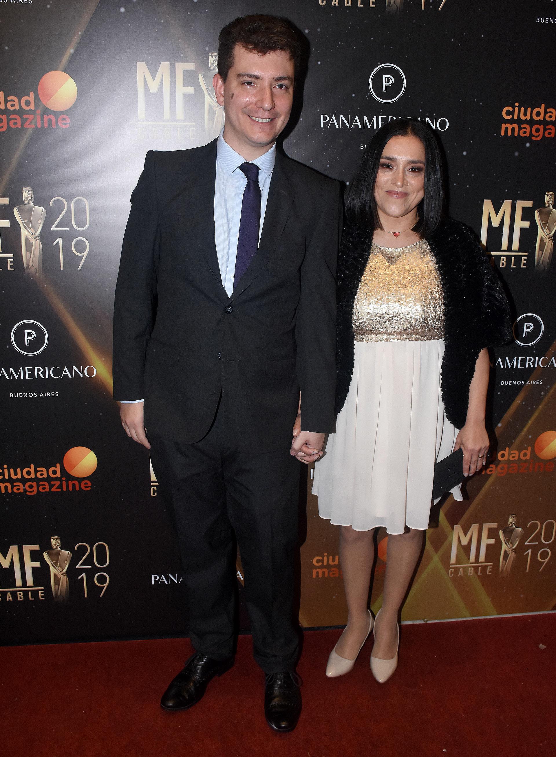 Ariel Tarico y su esposa