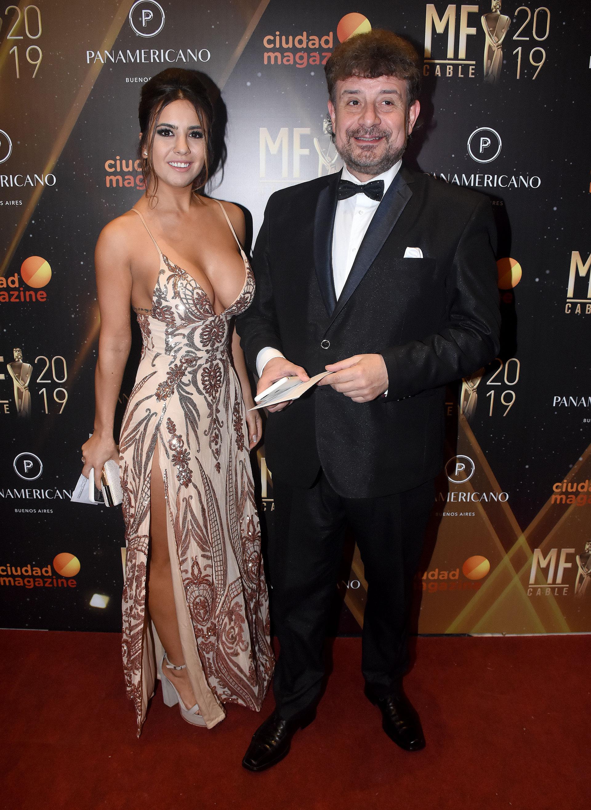 Ayelen Garavaglia y Daniel Mollo
