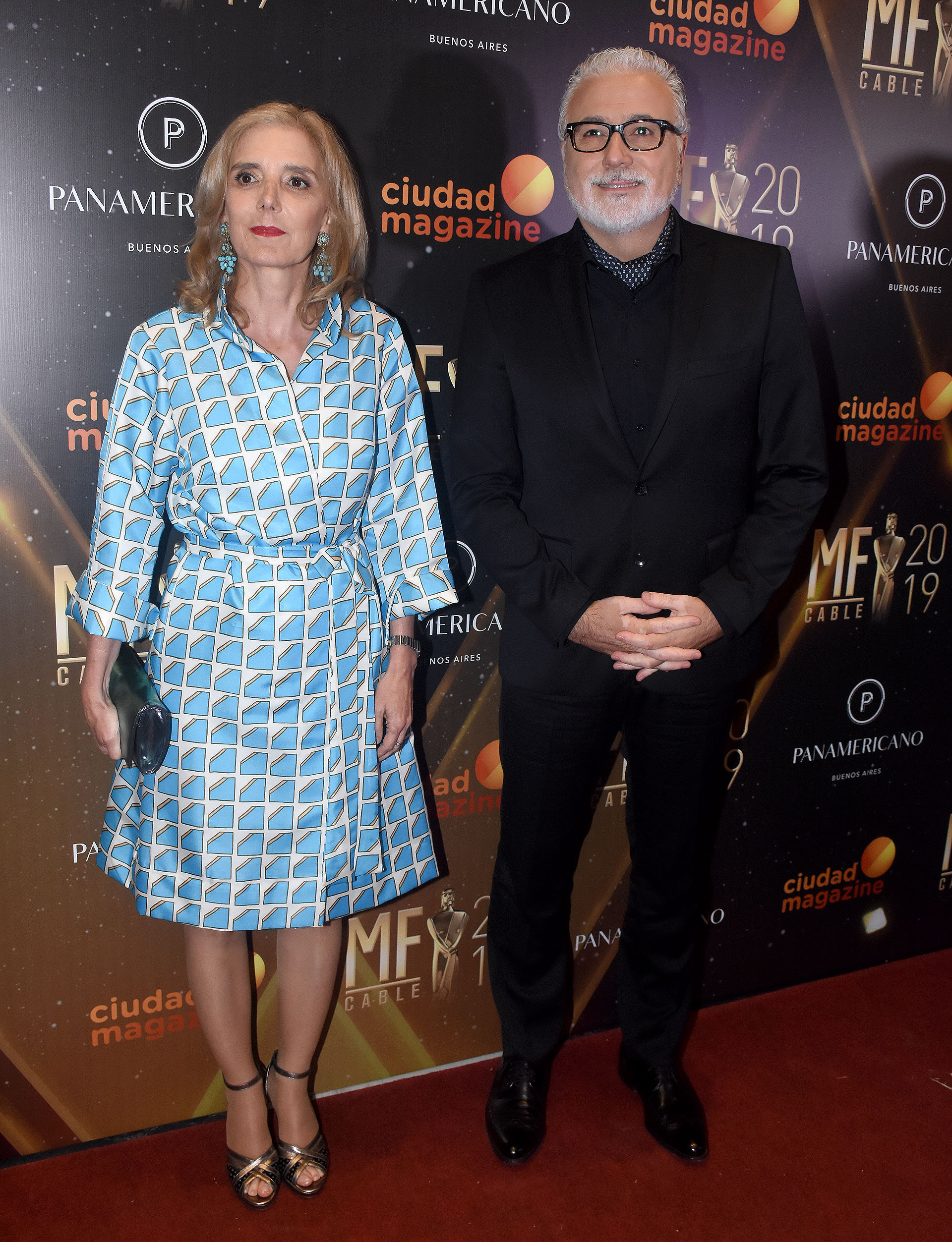 Bernarda Llorente y Claudio Villaruel