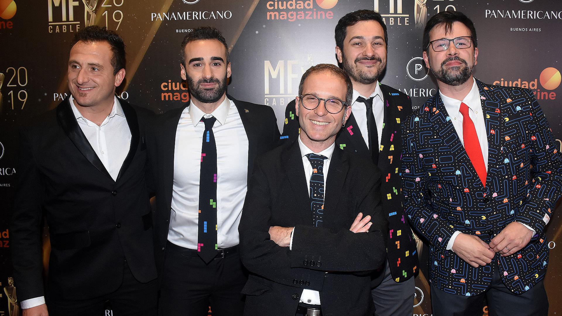 """Pablo Gravellone se sumó a los integrantes de """"TN Tecno"""": Gustavo Baabour, Federico Wiemeyer, Alejo Zagalsky y Santi Dorrego"""