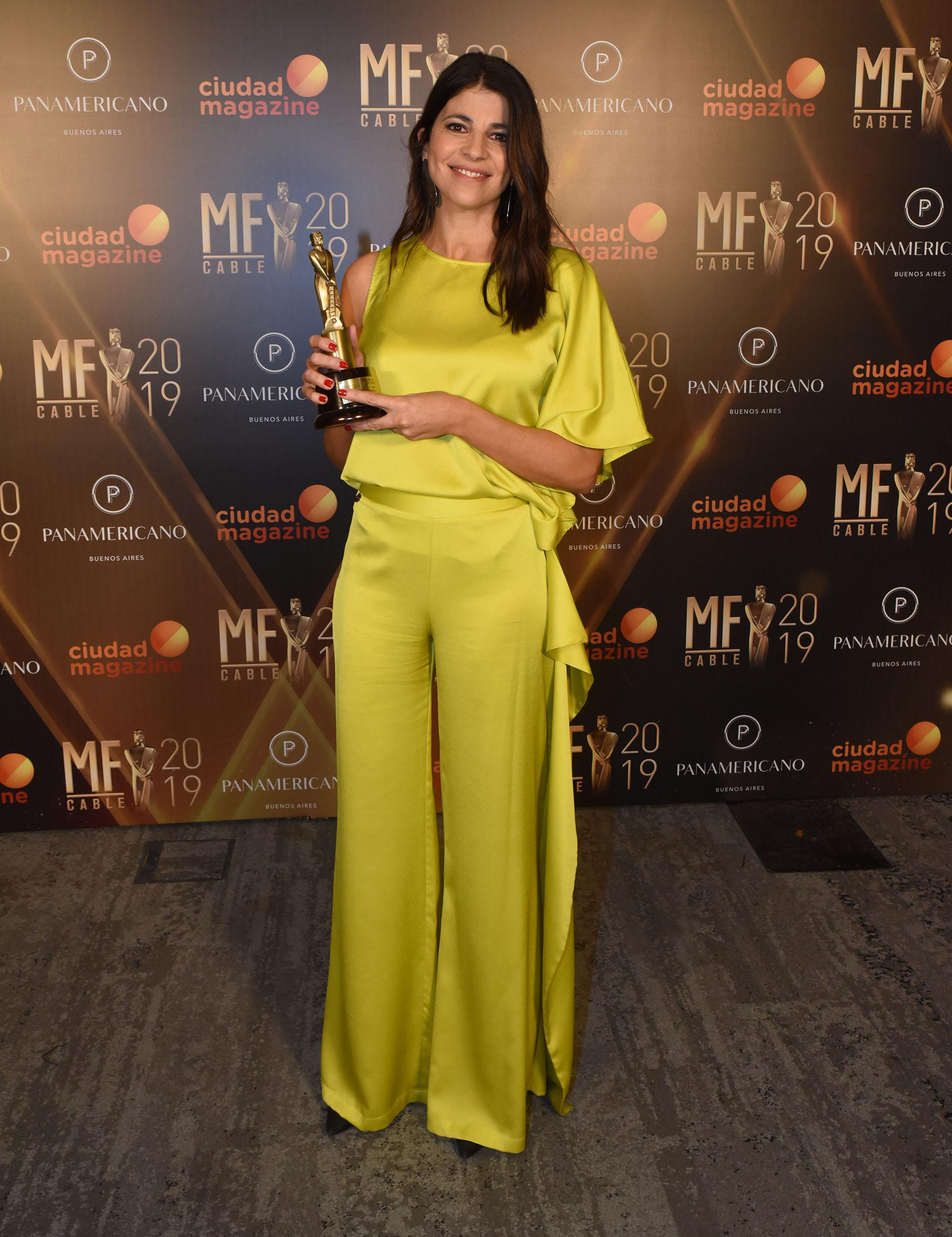 """""""LN + Campo"""", conducido por Eleonora Cole, fue galardonado como el mejor programa rural"""