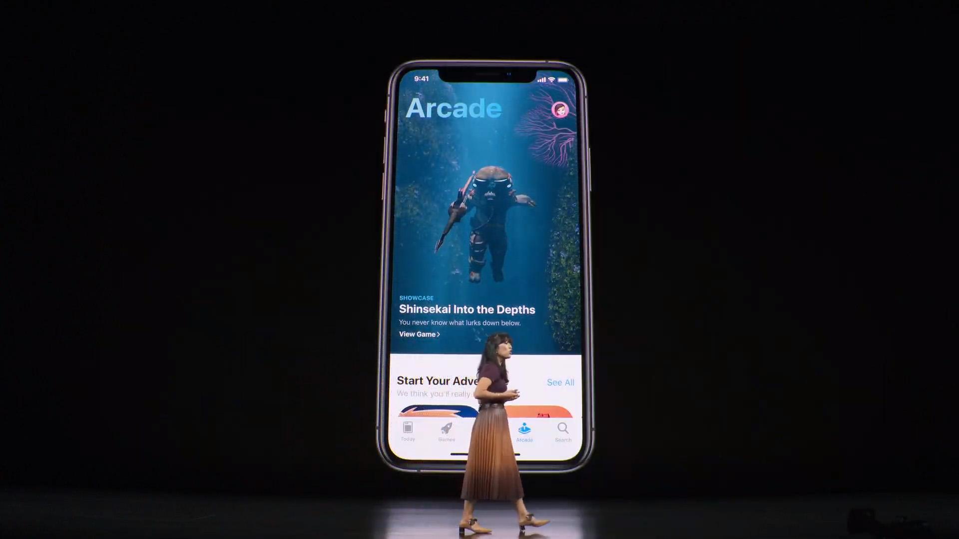 En App Store se sumará una nueva solapa dedicada a Arcade para que se puedan descargar juegos directamente desde la tienda virtual
