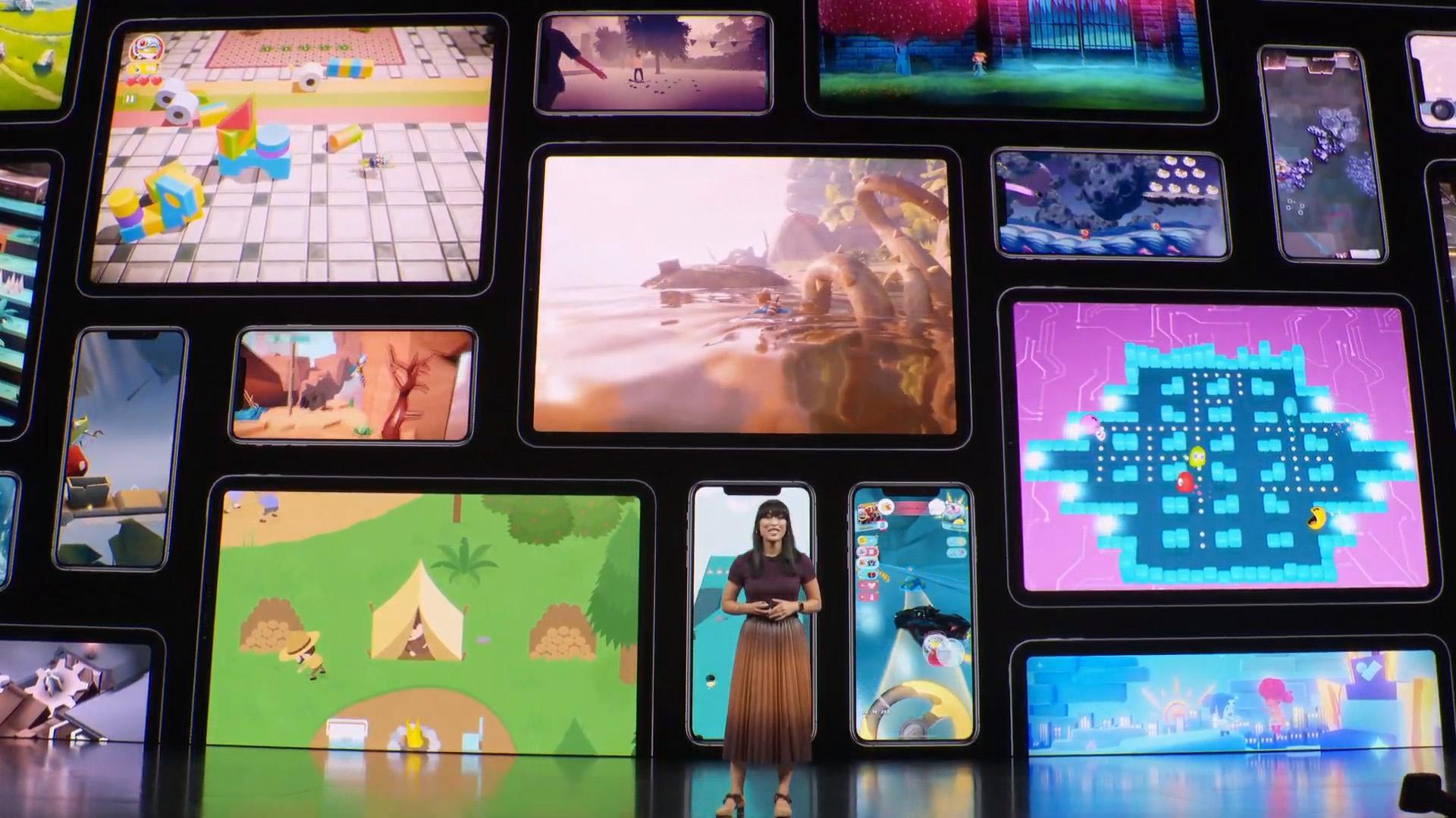 El encuentro comenzó con una presentación de las novedades que llegan a Apple Arcade