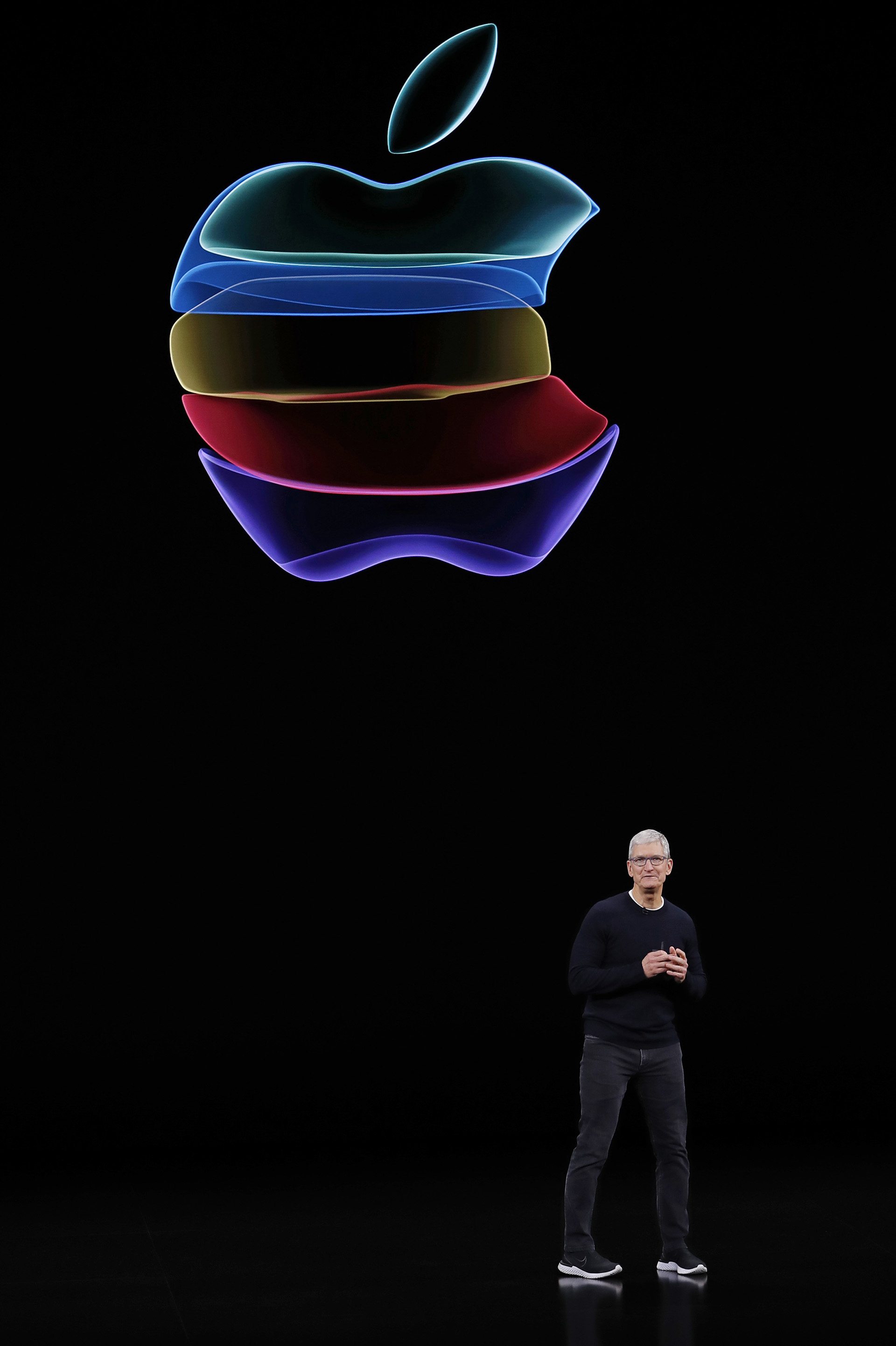 Tim Cook, el sucesor de Steve Jobs en la dirección de Apple (REUTERS/Stephen Lam)