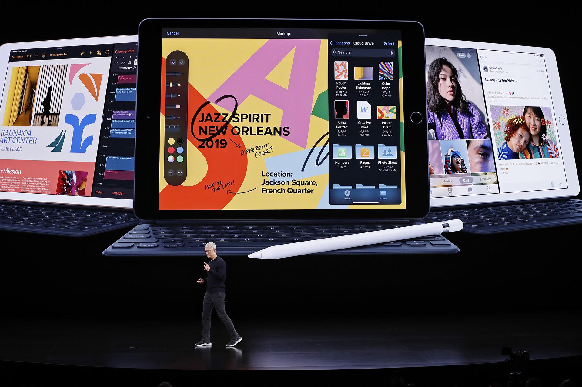 El nuevo iPad se puede encargar a partir de este martes y se comenzará a entregar el 30 de septiembre (REUTERS/Stephen Lam)