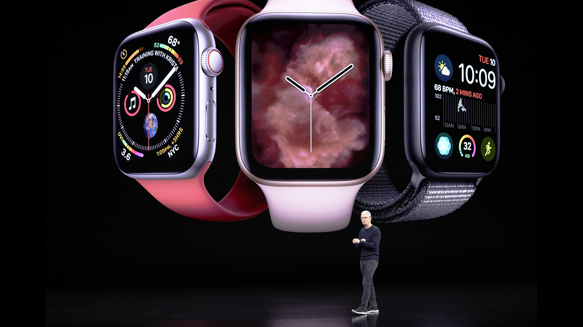 El nuevo Apple Watch tiene pantalla Retina Always On (AP Photo/Tony Avelar)