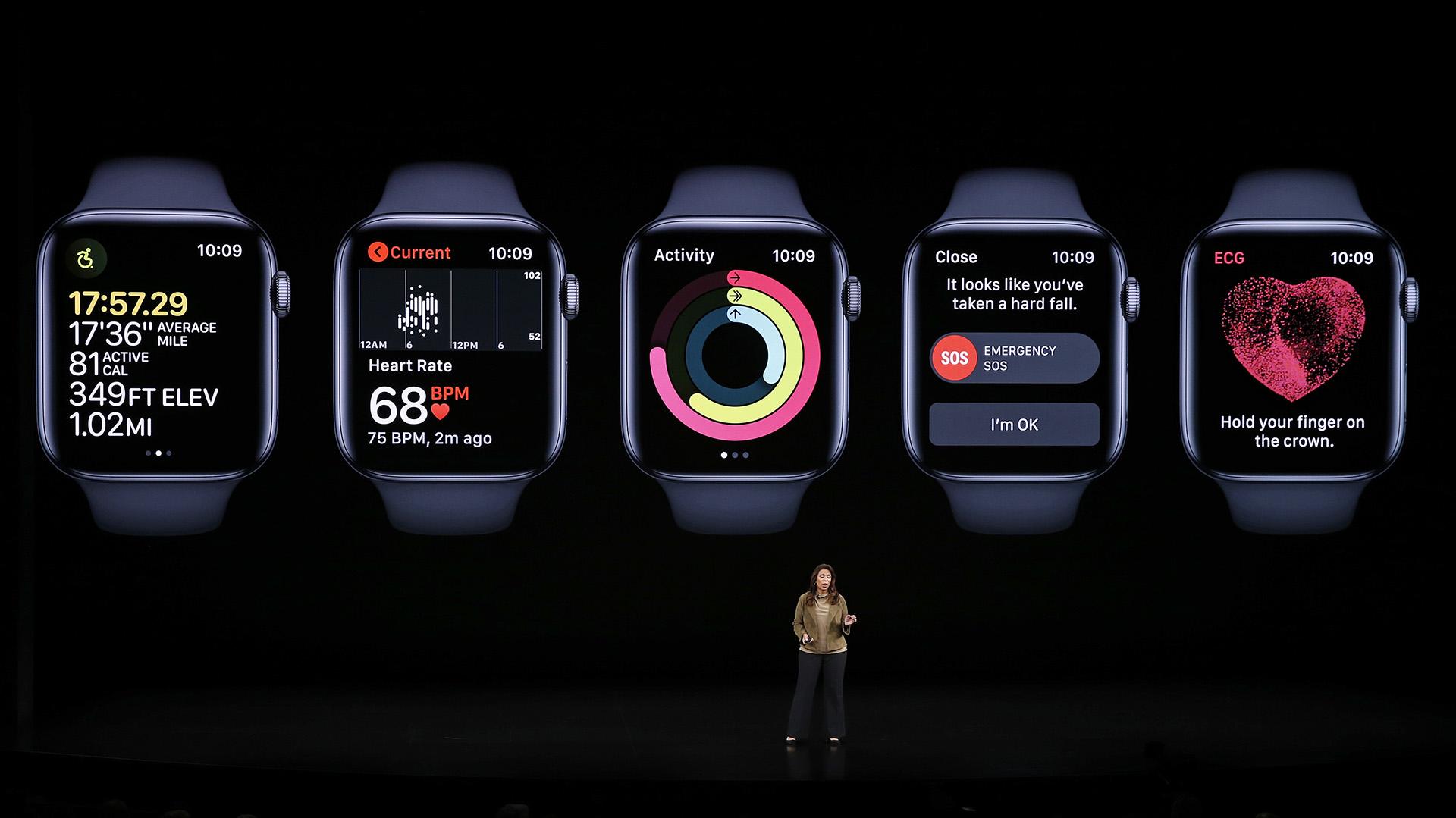 Sumbul Desai, vicepresidente de Salud de Apple, anunció que se lanzarán tres estudios médicos nuevos (REUTERS/Stephen Lam)
