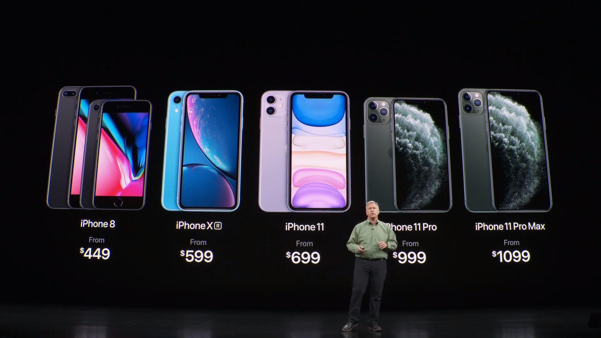 Los precios de los nuevos iPhones