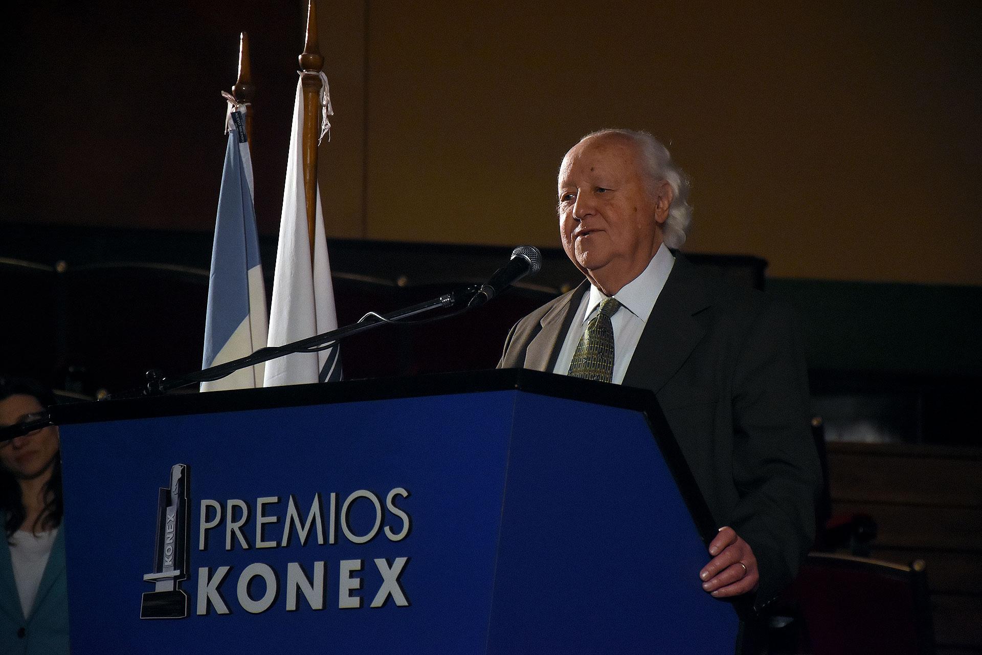 El director del gran Jurado Mario Perusso