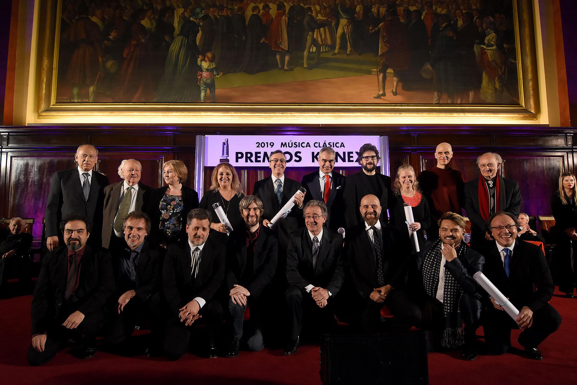 En la disciplina conjunto de Cámara los representantes de la Compañía Oblicua, Cuarteto Gianneo, Cuarteto Petrs, Manos a las Obras y Opus Trío