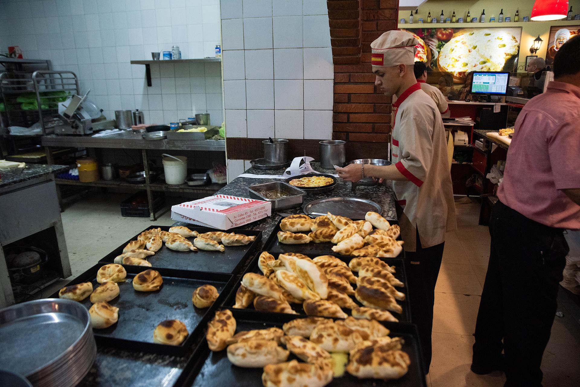 En La Americana se destacan también por sus empanadas y sus diferentes sabores