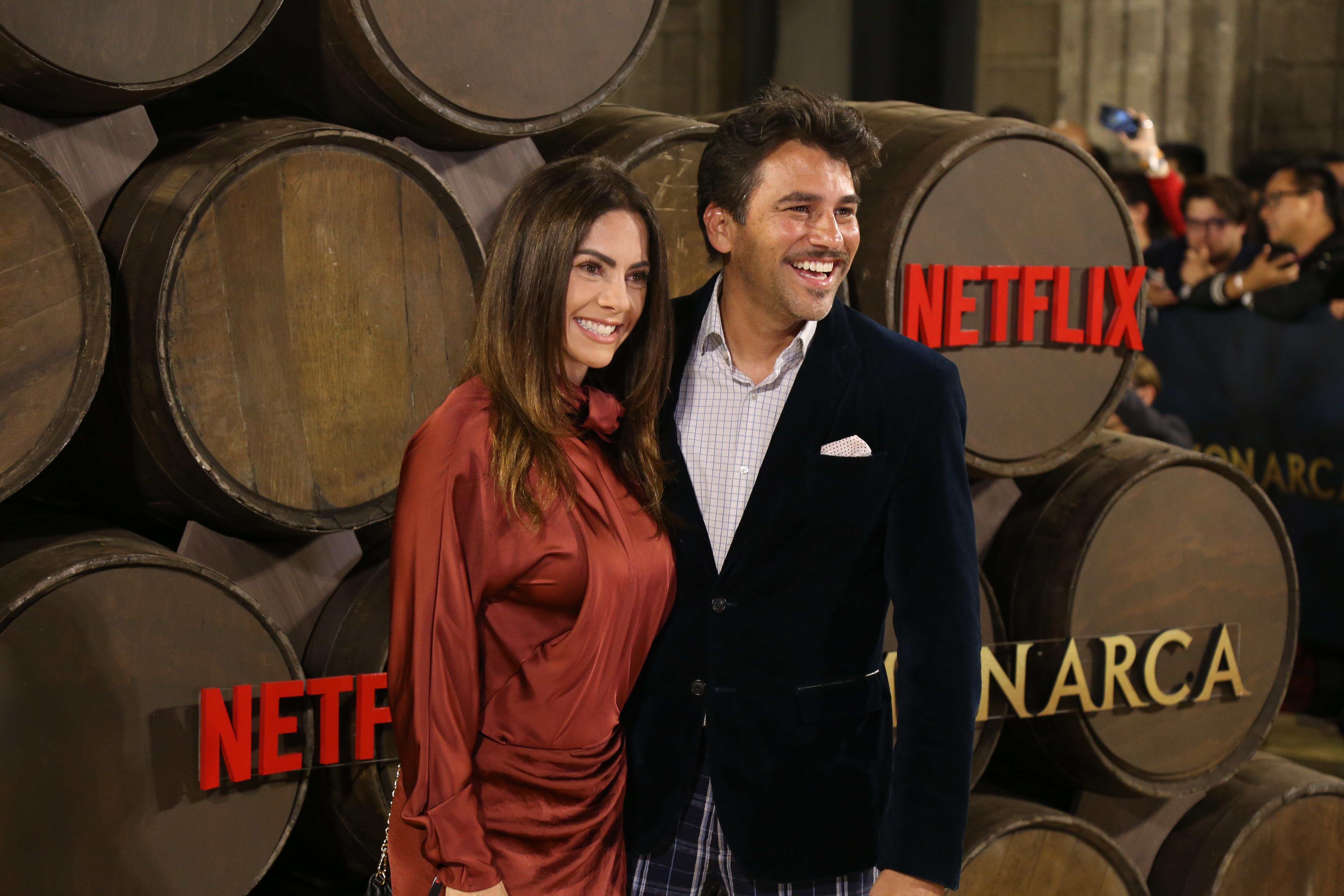 Mauricio Barcelata y María José Suárez