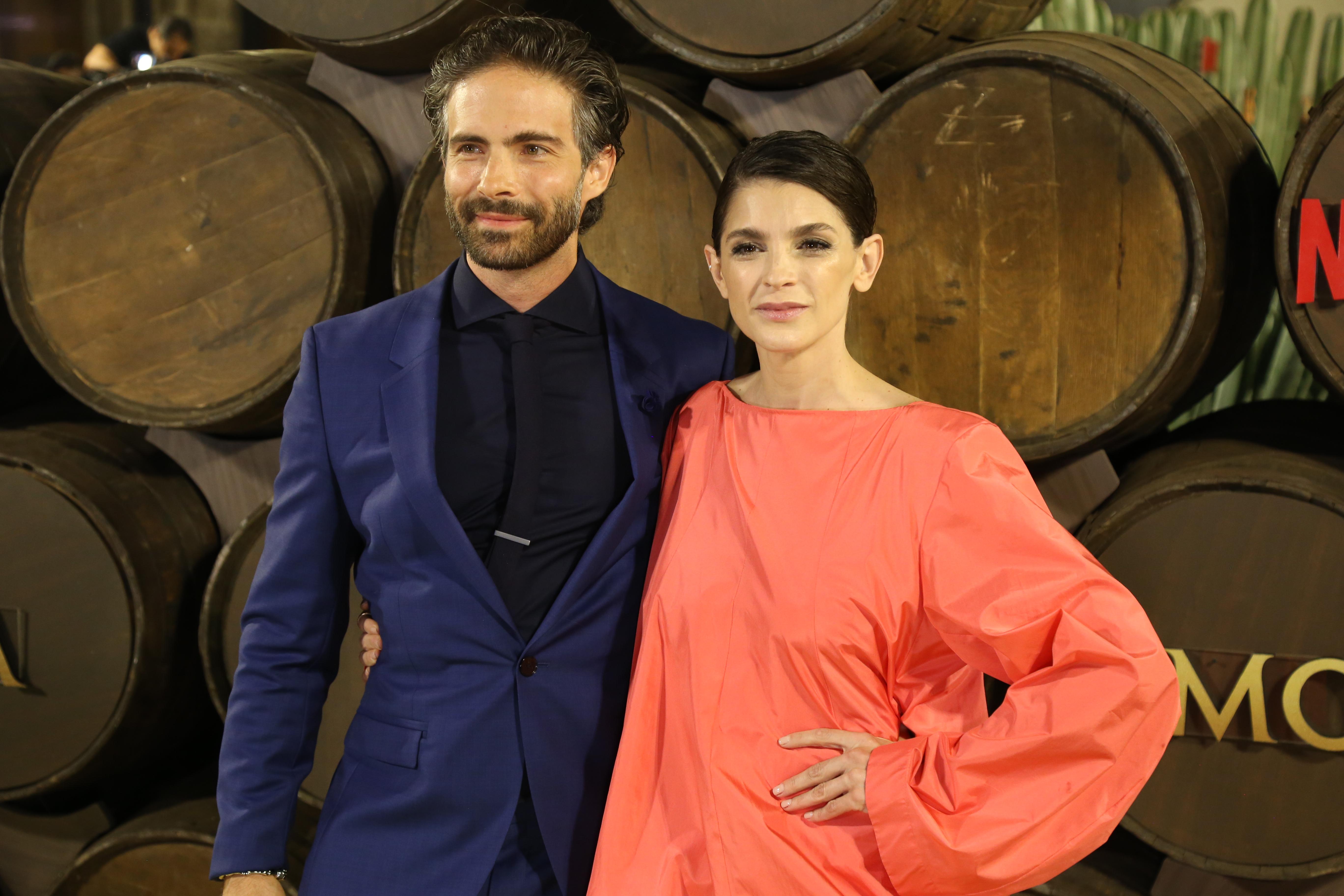 Oslavdo Benavides e Irene Azuela