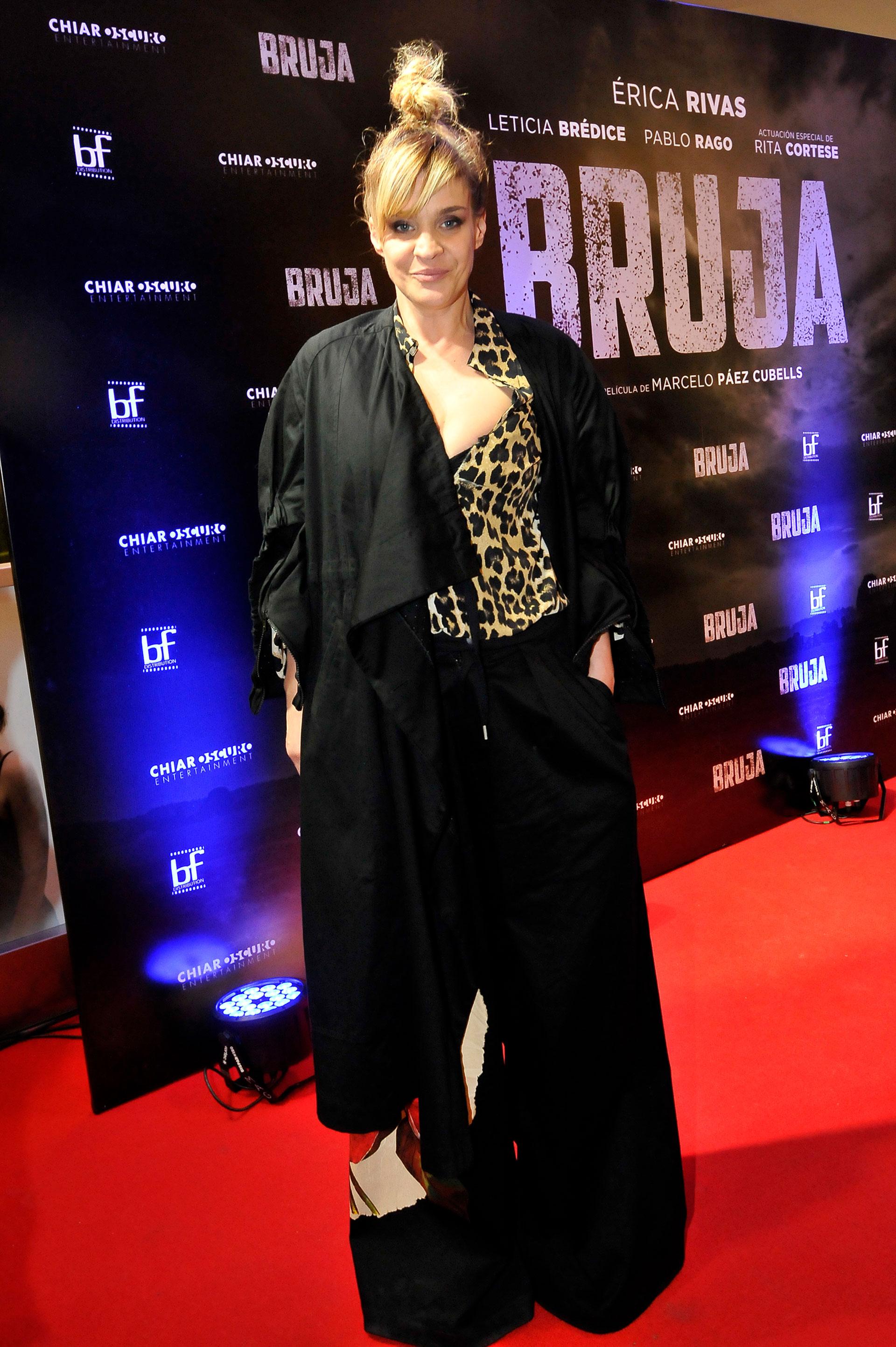 """Letice Brédice, protagonista del filme, se despidió esta semana del """"Bailando"""""""