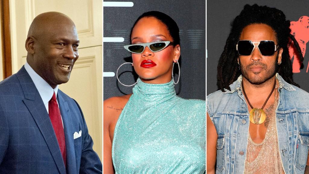 Michael-Jordan,-Rihanna-y-Lenny-Kravitz