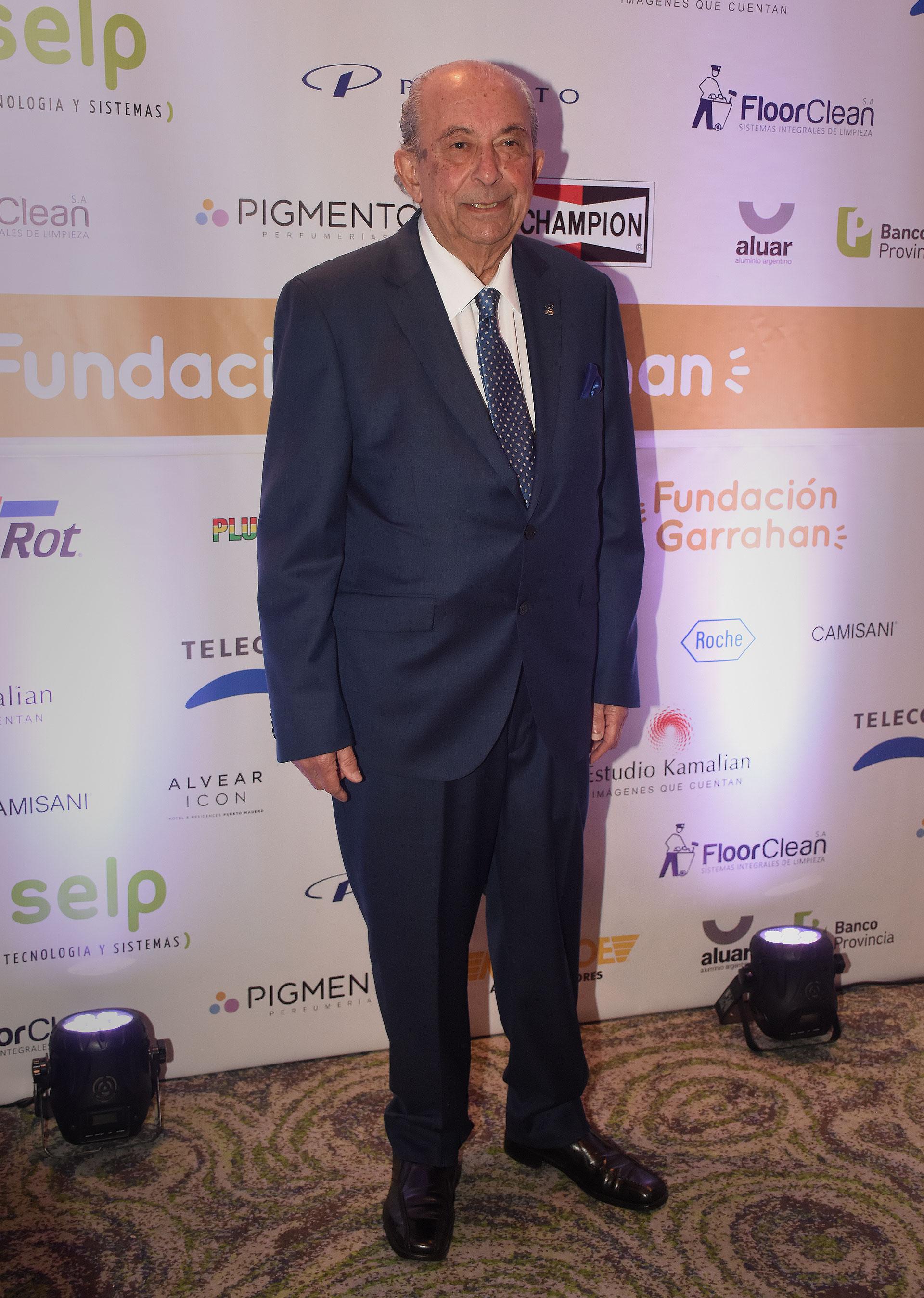 Jorge Víctor Menehem, médico pediatra, especialista en administración de sistemas de salud y presidente de la Fundación Juan Garrahan