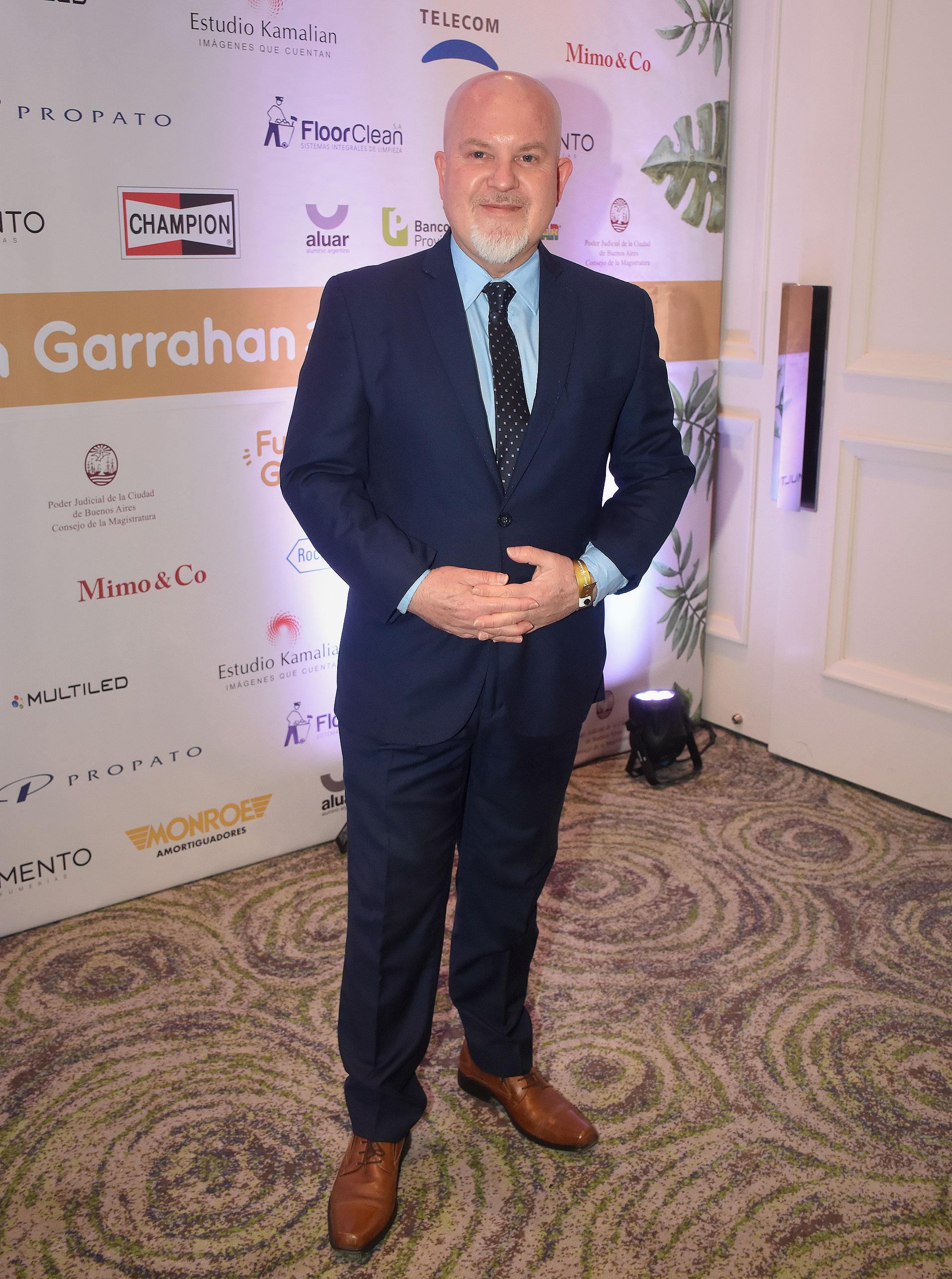 Juan Ignacio Penlowskyj, colaborador de la Fundación Garrahan