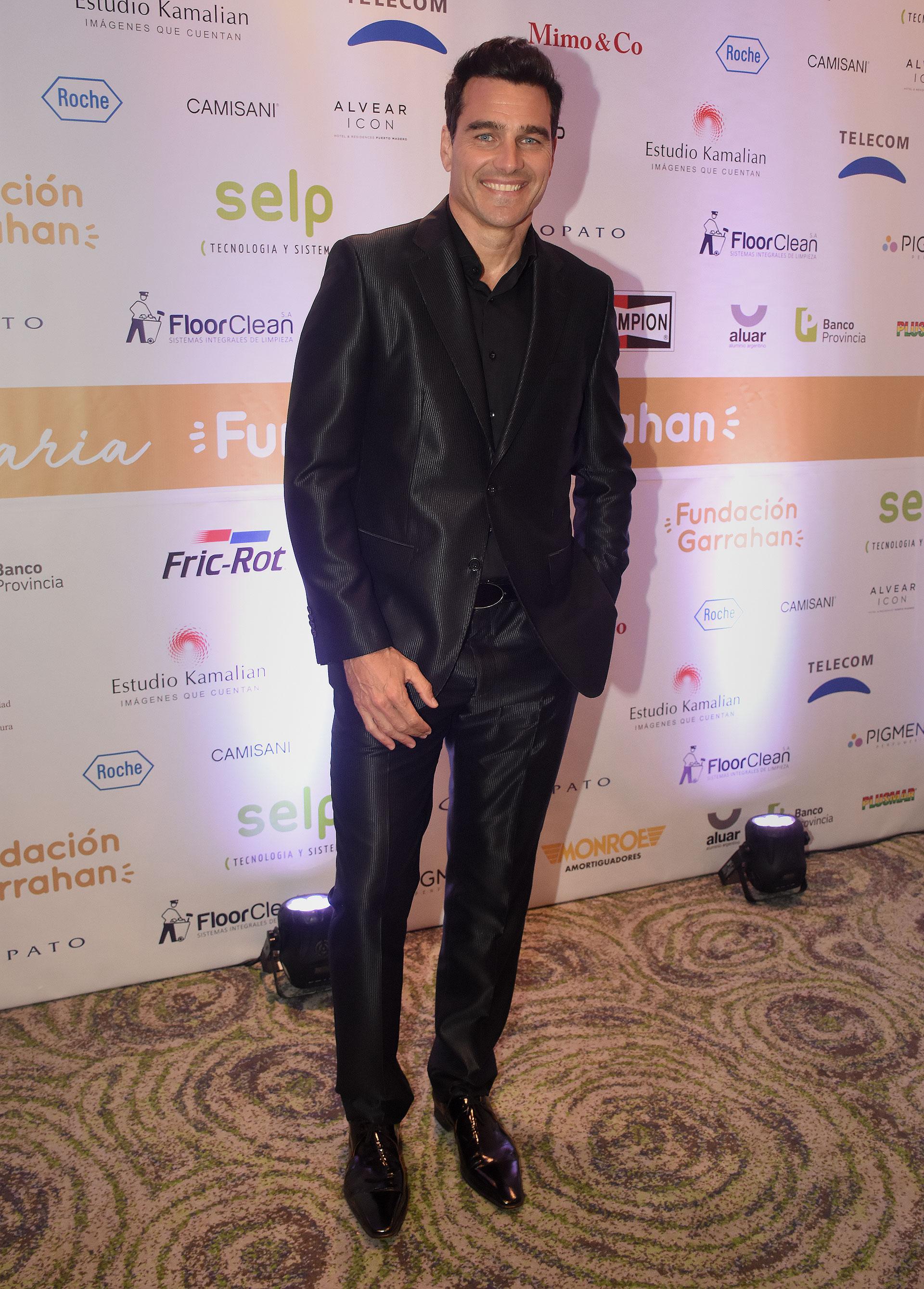 El modelo y conductor Hernán Drago