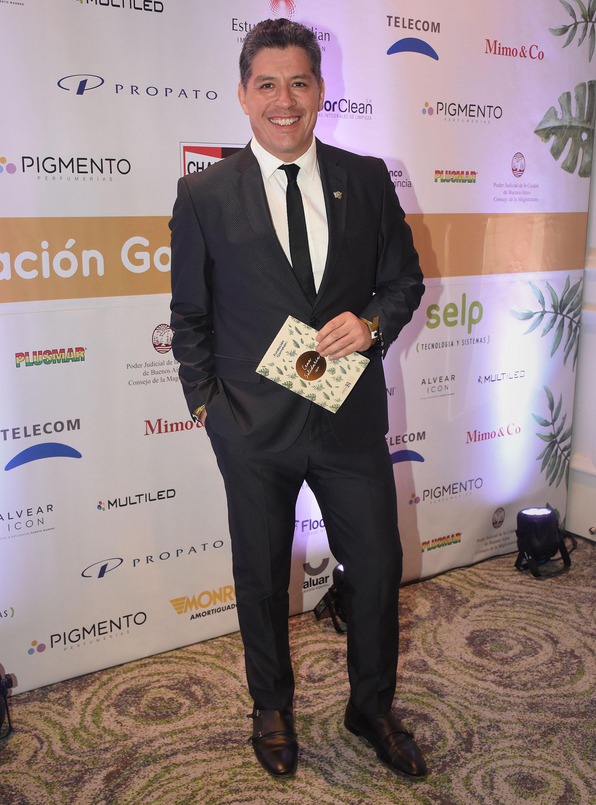 El locutor y periodista argentino Guillermo Eugenio Lobo