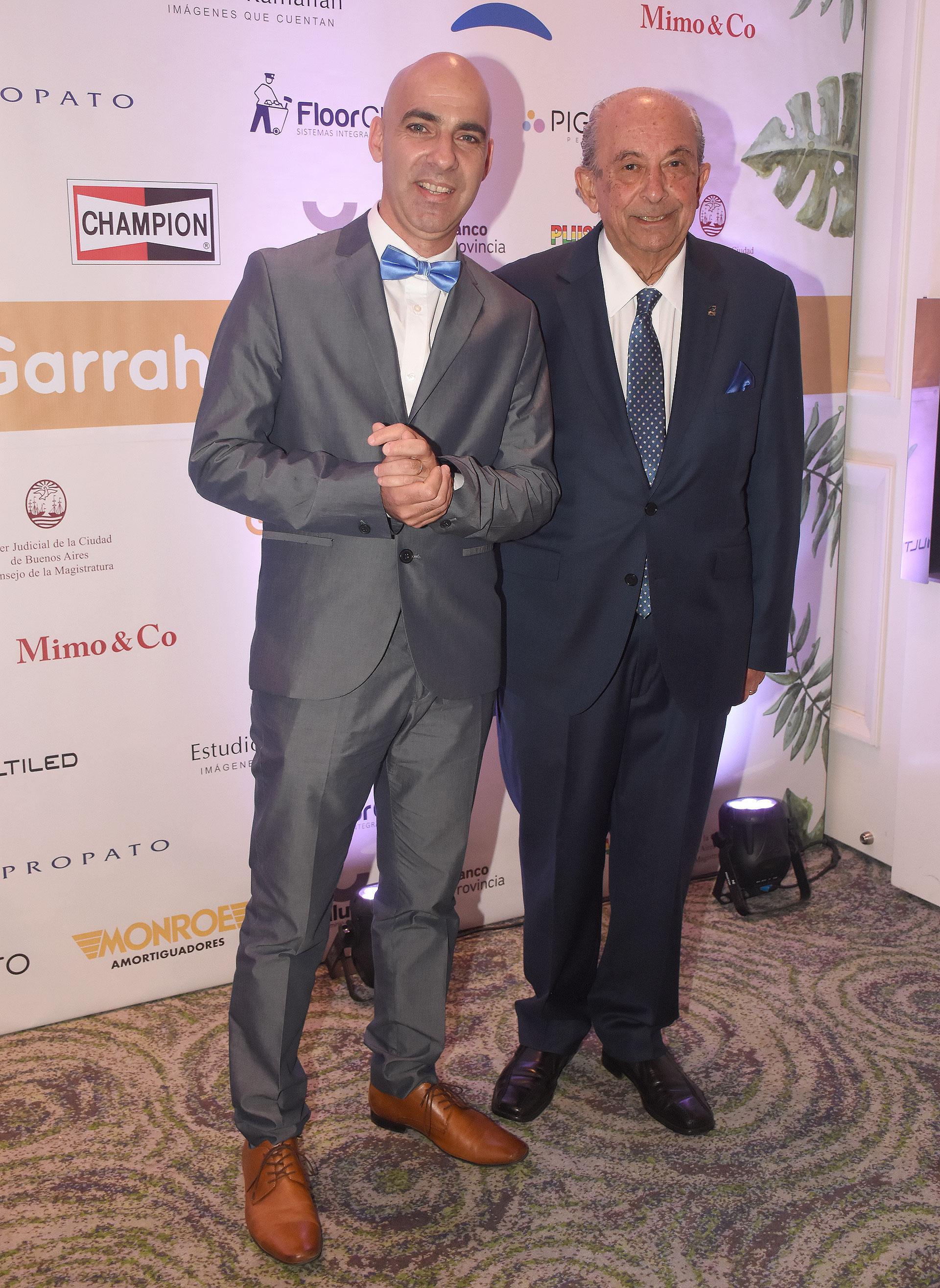Carlos Kambourian y Jorge Menehem