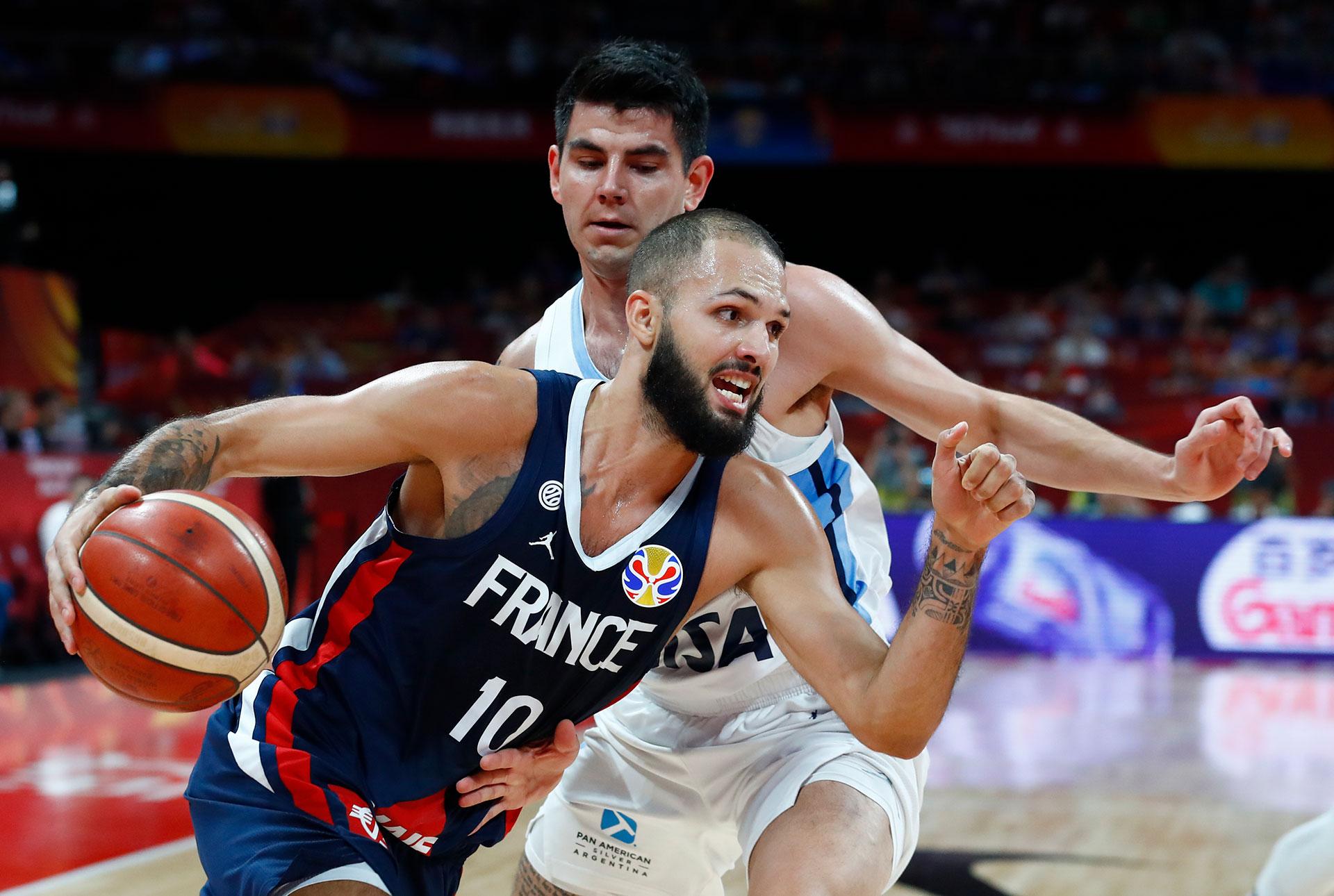 Gabriel Deck, otro de los baluartes del equipo de Sergio Hernández (Reuters)