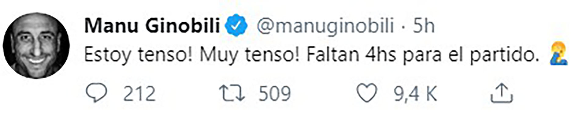 tuits ginobili argentina vs francia SF (1)