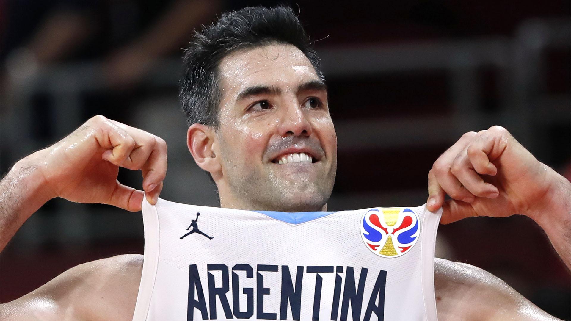 Luis Scola, la gran figura en la victoria de Argentina en la semifinal del Mundial (REUTERS/Kim Kyung-Hoon)