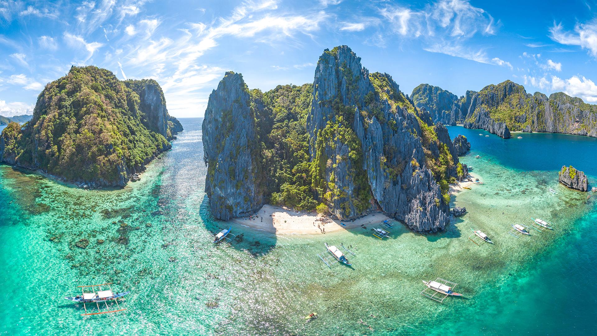Hay más de 7.000 islas en Filipinas, y se encuentran fácilmente entre las más bellas del mundo