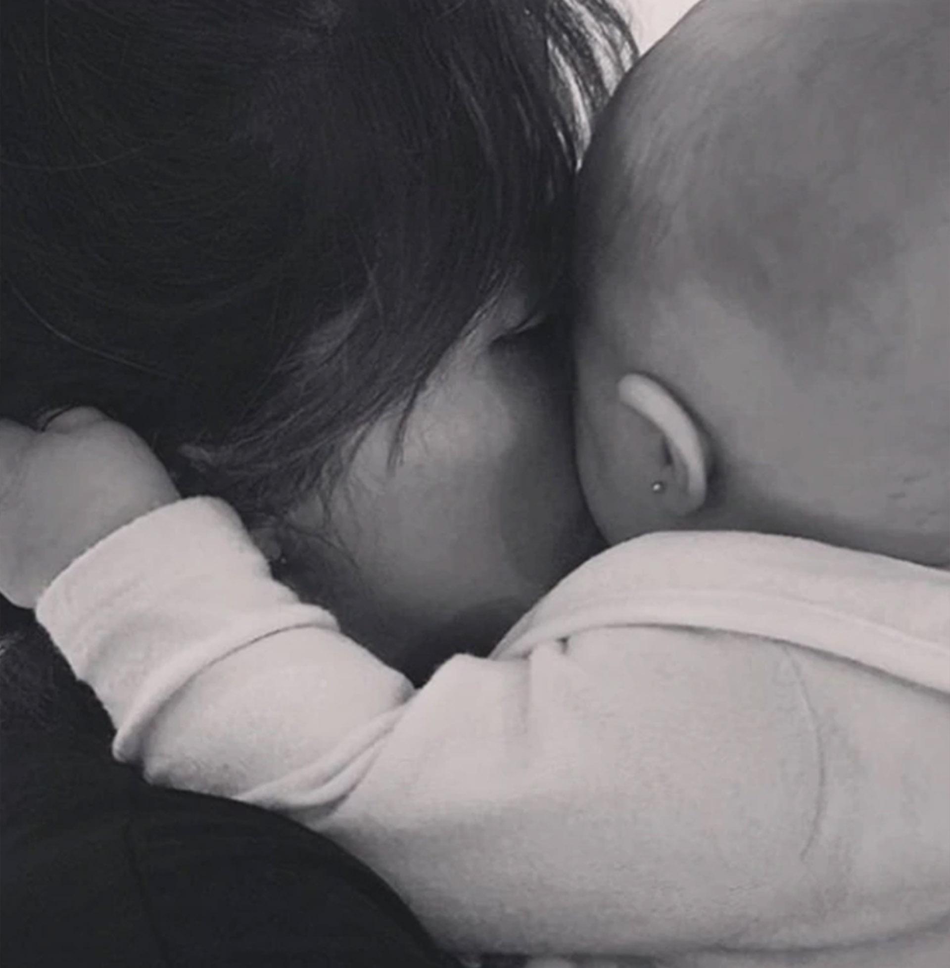 """A Roma, con amor. Gianinna Maradona compartió una hermosa carta dirigida a su sobrina, la hija de Dalma Maradona, quien acaba de cumplir seis meses de vida. Y conmovió a sus seguidores en las redes al confesarle: """"Ser tu tía me salvó la vida"""" (Foto: Instagram)"""