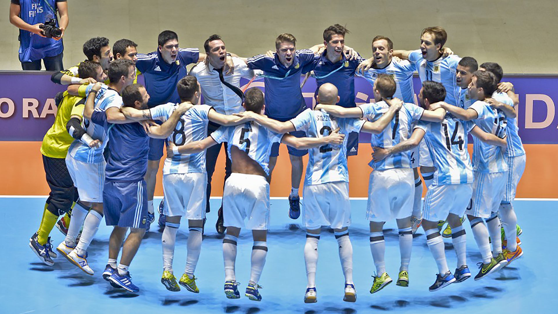 DEPORTES ARGENTINOS HISTORICOS argentina futsal 2016