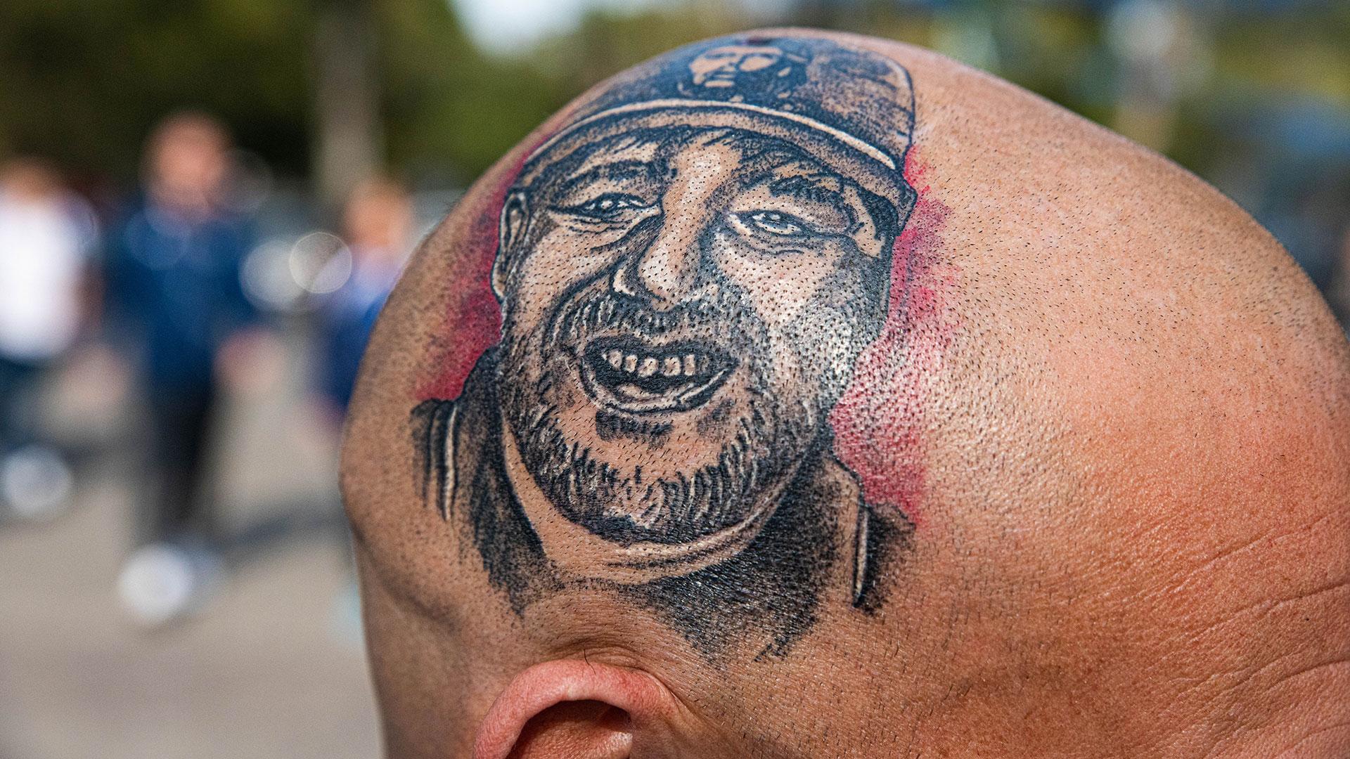 Con Maradona en la cabeza