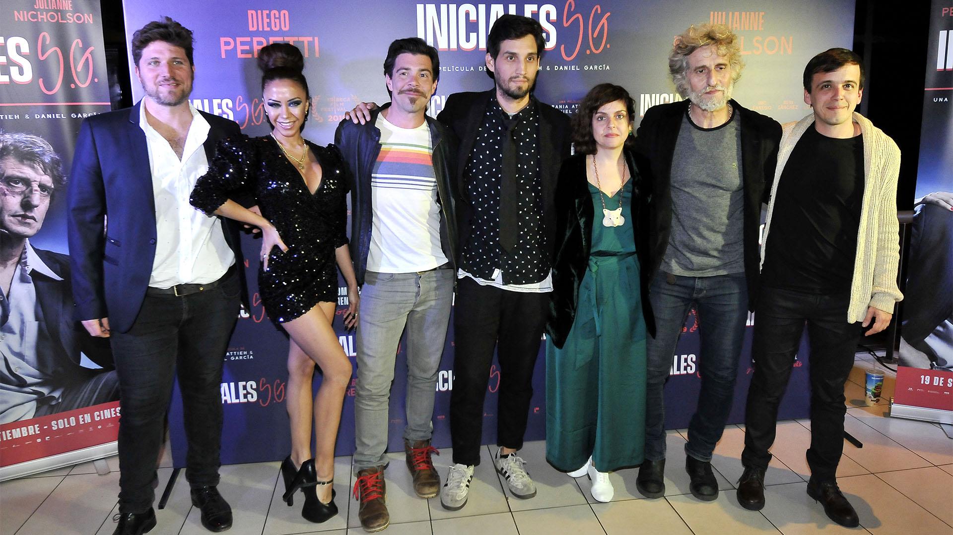 """El elenco de """"Iniciales S.G"""" (Fotos: Darío Batallan / Teleshow)"""