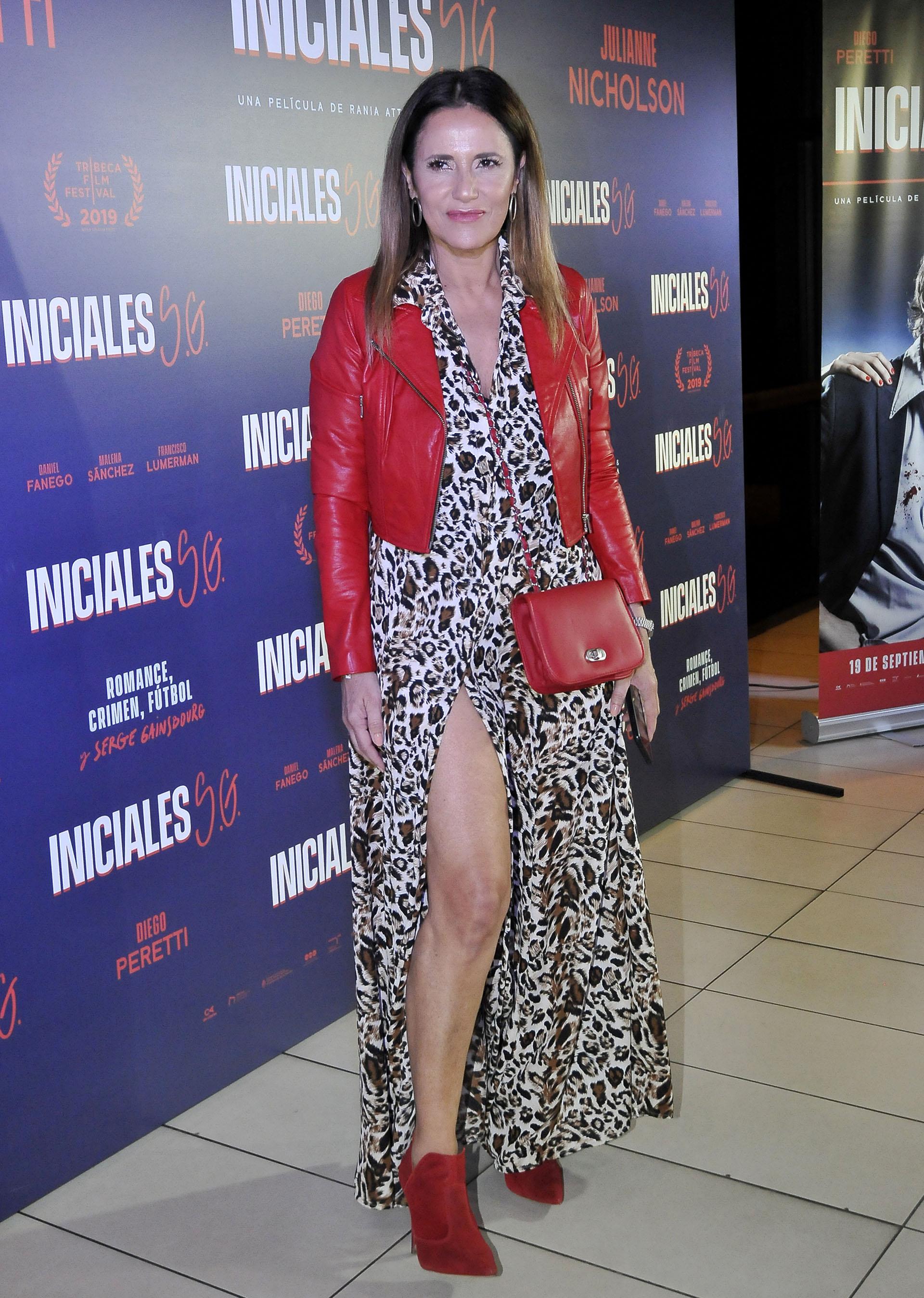 Fernanda Callejón no se quiso perder el estreno que se llevó a cabo el lunes por la noche