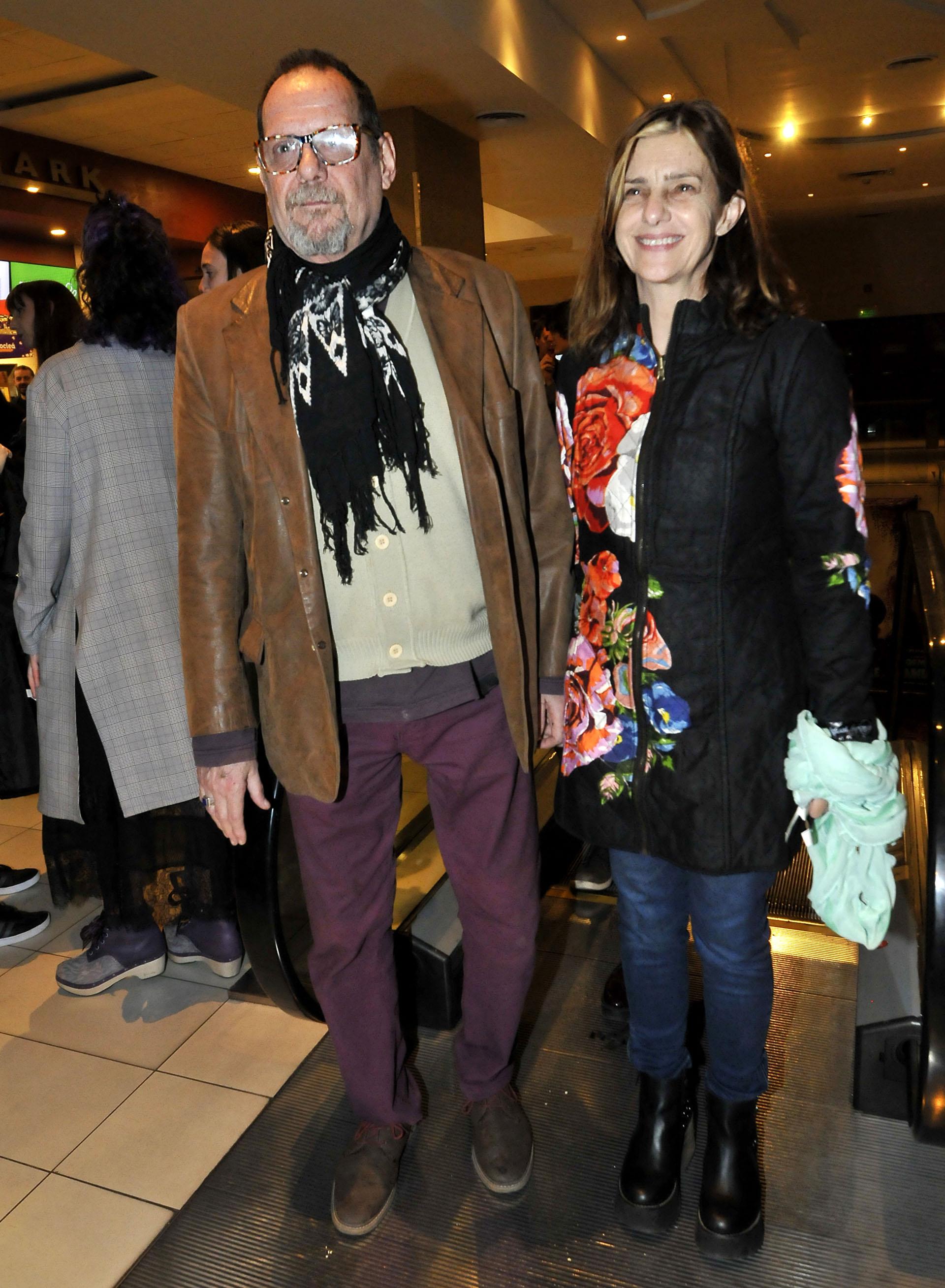 Luis Luque y su mujer, la actriz Silvia Kutika