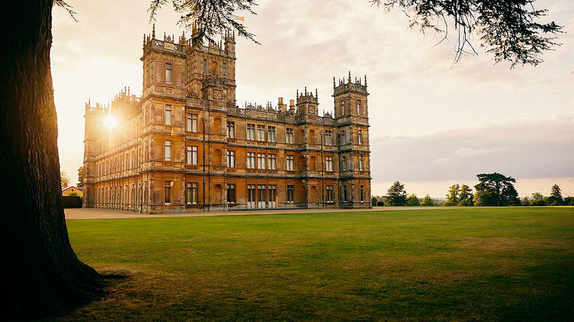 El Castillo De Downton Abbey Disponible Para Alquilar Por