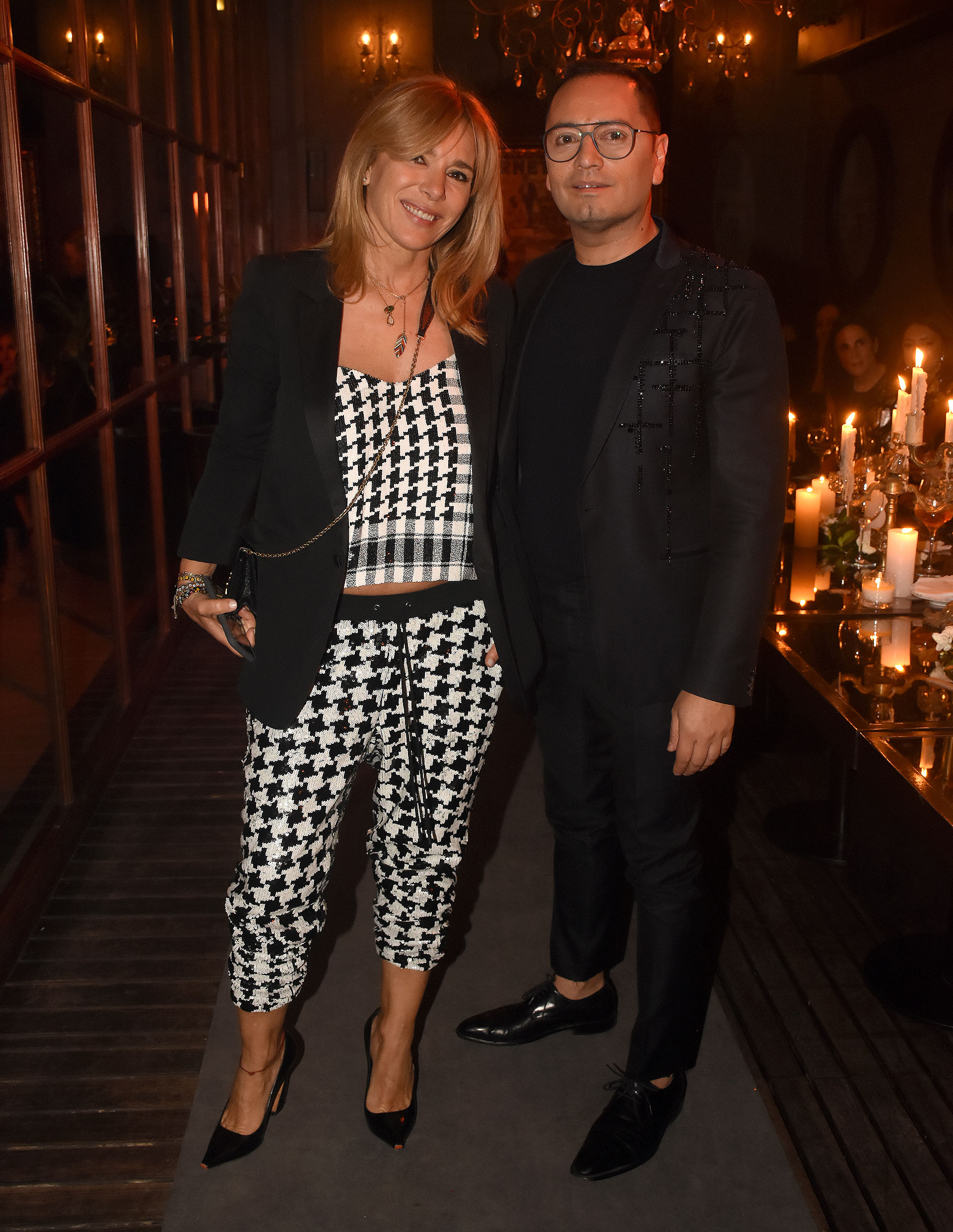 Grace Ratto y Fabián Medina Flores
