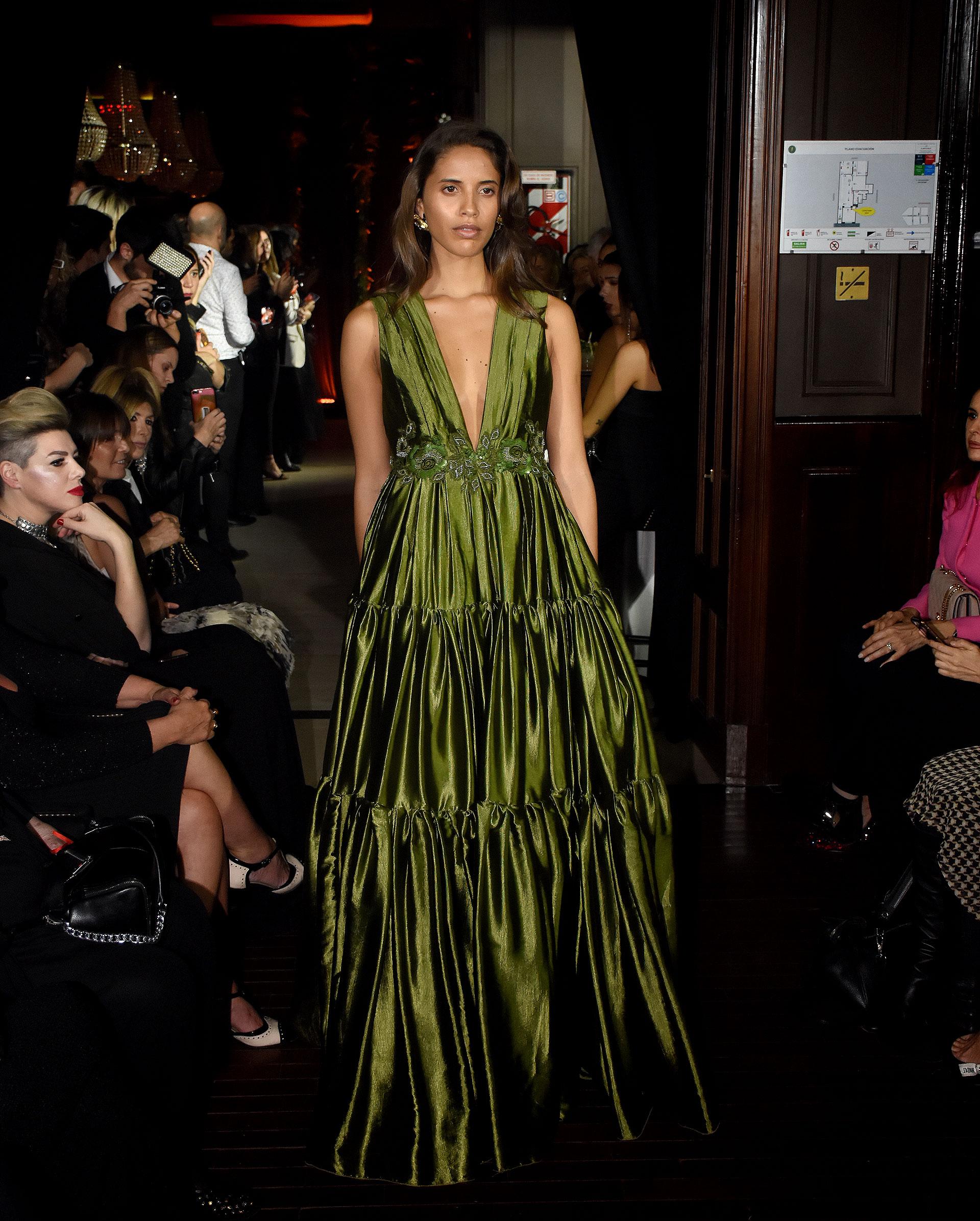 Taina Ferreira fue una de las musas elegidas por el diseñador