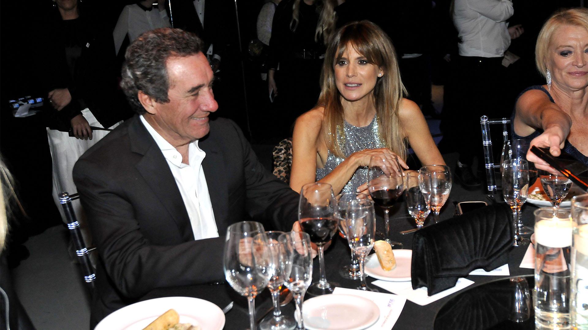 Luis Alberto Scalella y Flavia Palmiero