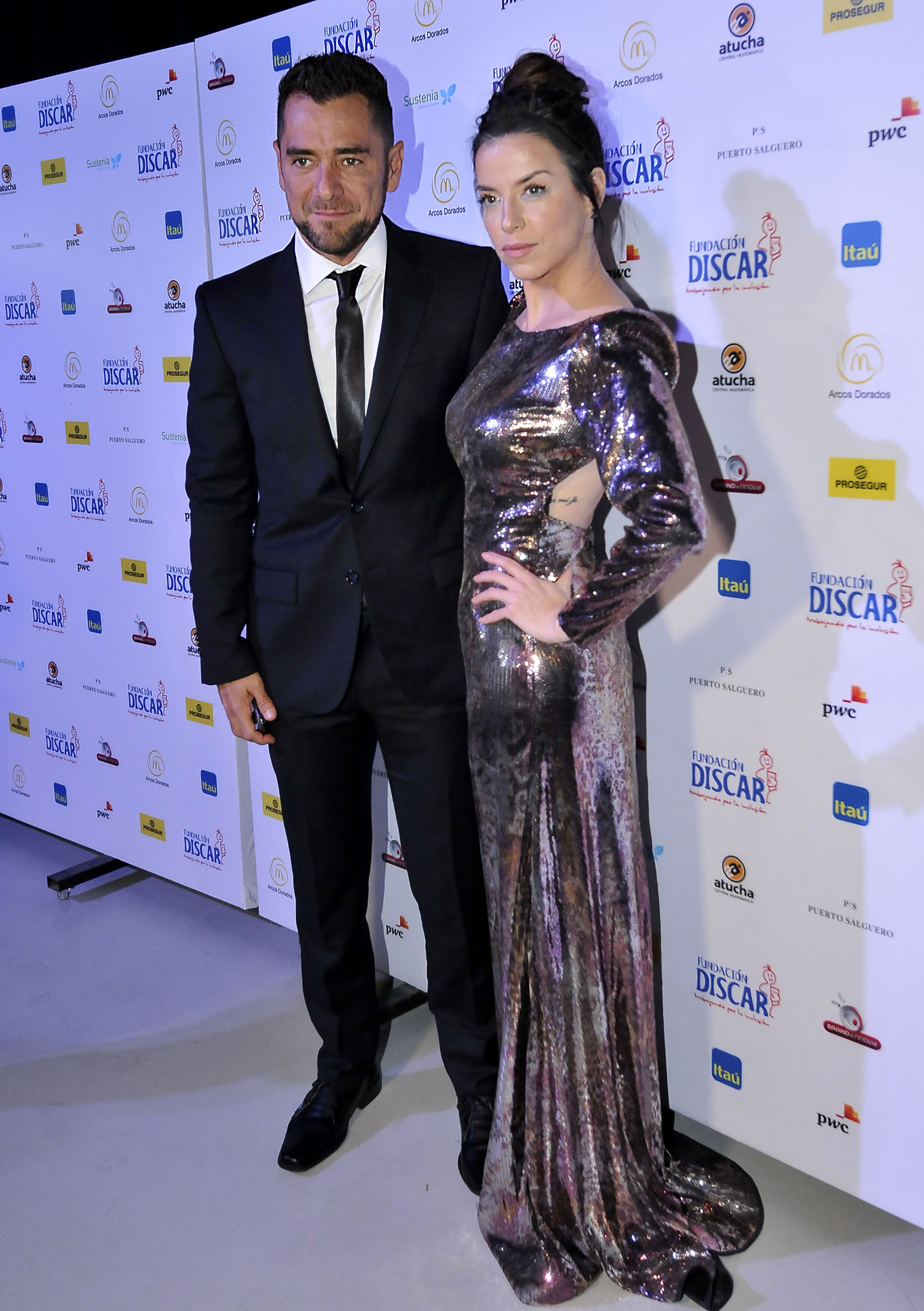 Mercedes Funes y Cecilio Flematti. La pareja se casaran a fines de noviembre