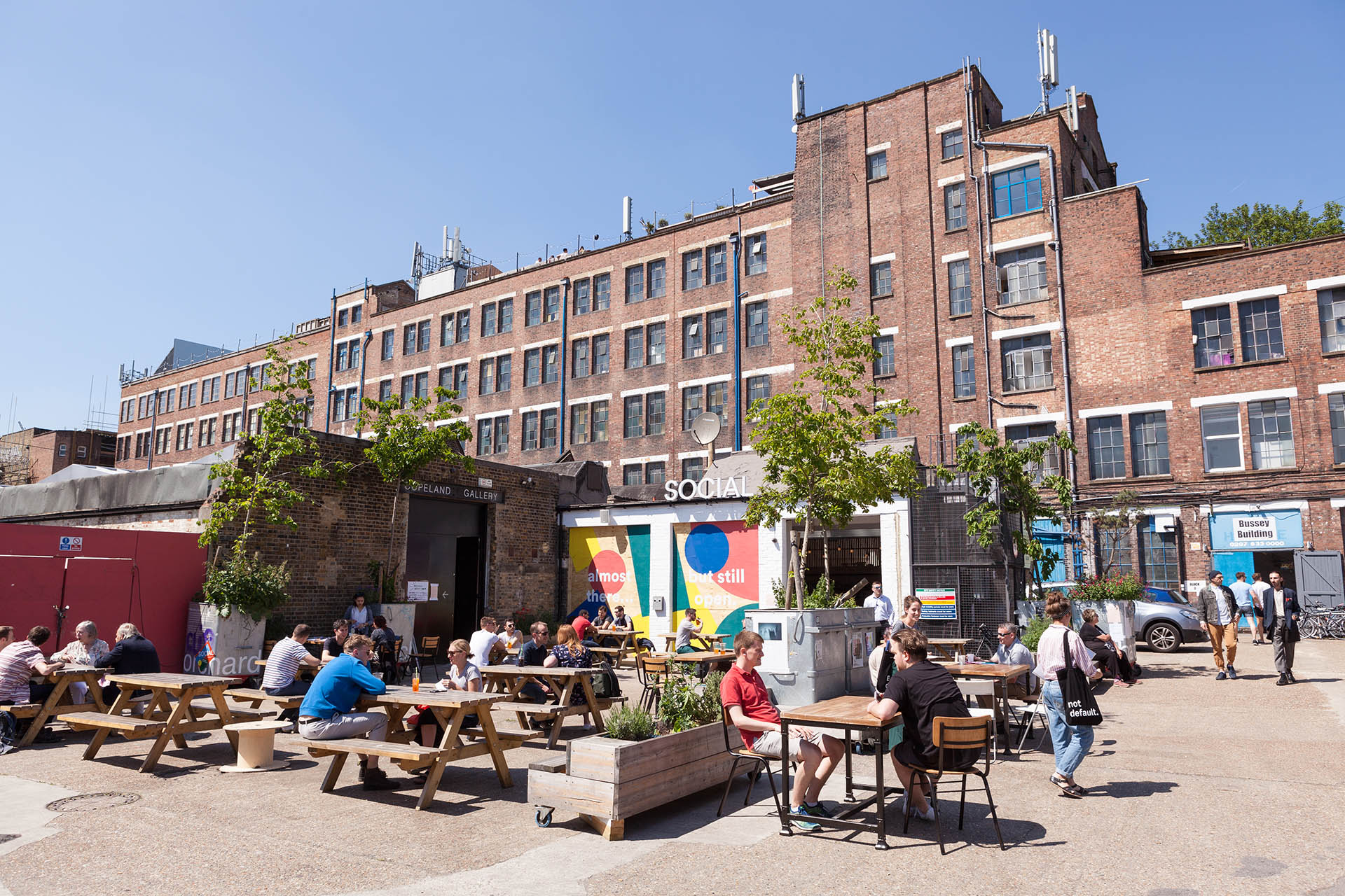 El barrio de Peckham en Londres se ha consolidado como uno de los principales puntos culturales de la capital