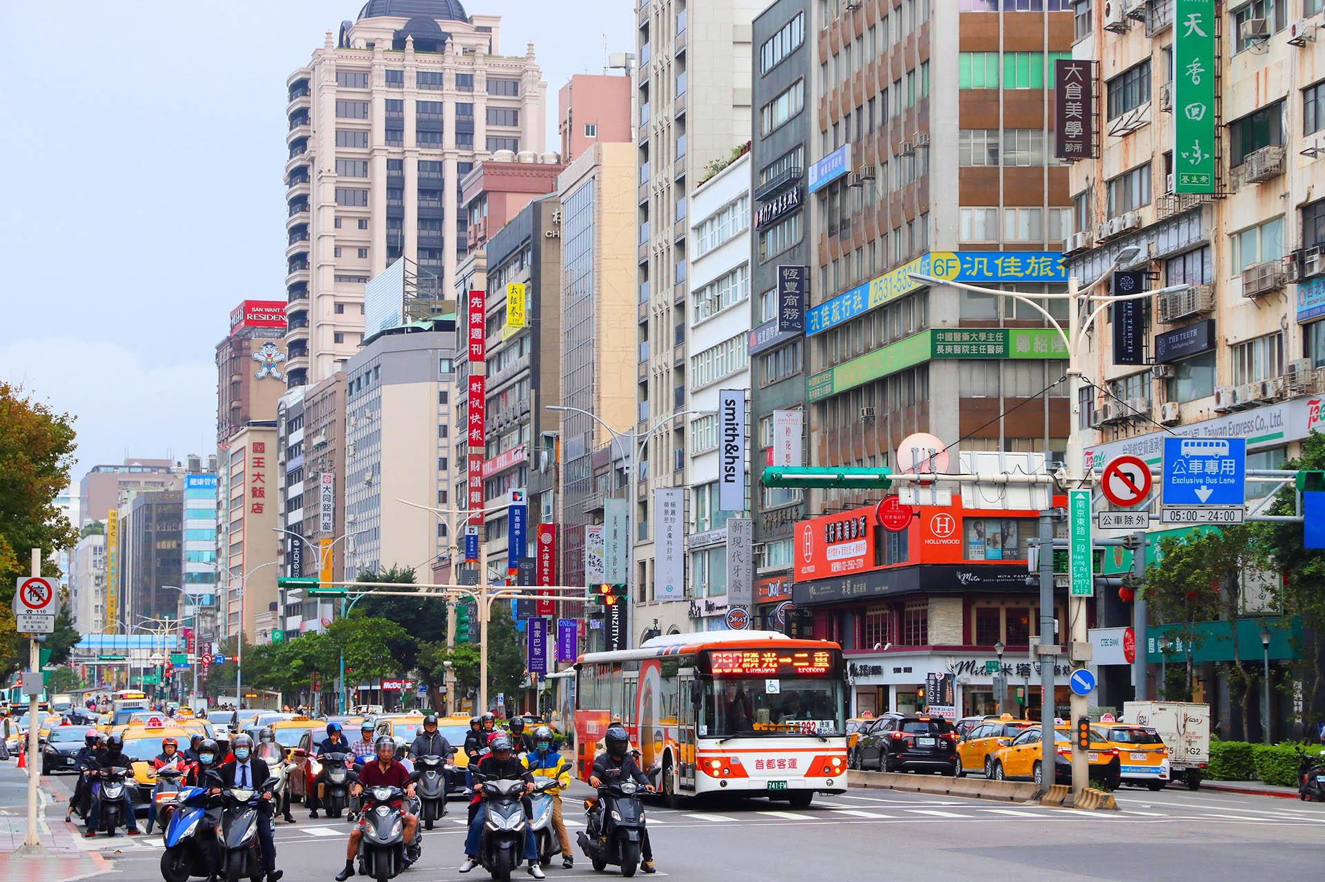 El distrito de Zhongsham de Taiwán combina la elegancia de antaño junto con nuevos centros comerciales ultramodernos