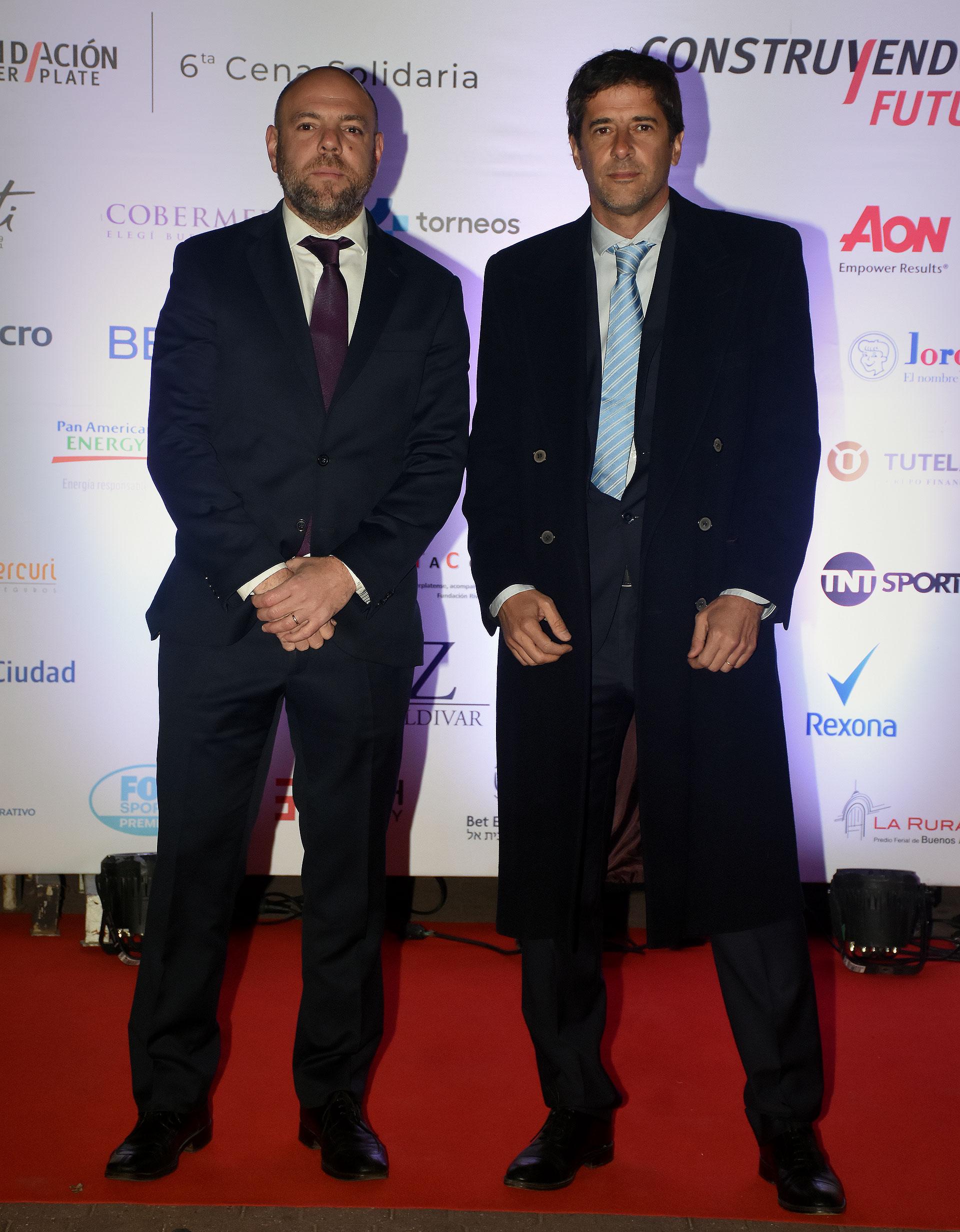 Horacio Ferrecio y Rómulo Suaya, vocales de la Fundación River Plate