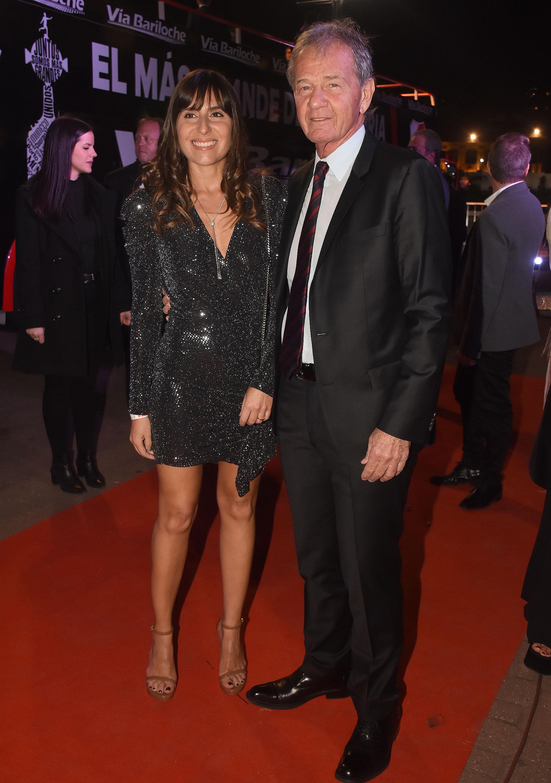 Daniel D'Onofrio y su mujer