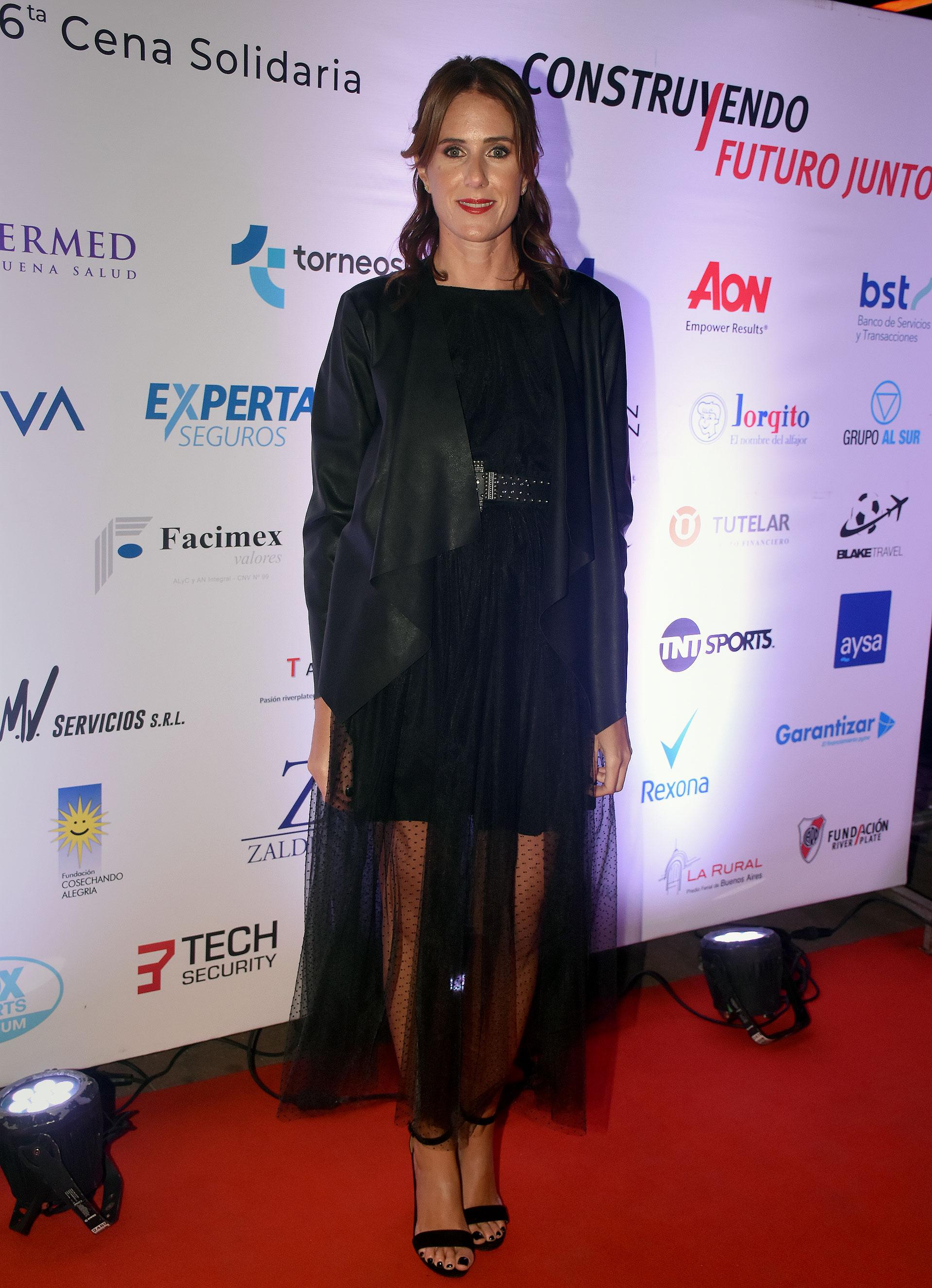 Clara D'Onofrio, presidente de la Fundación River Plate