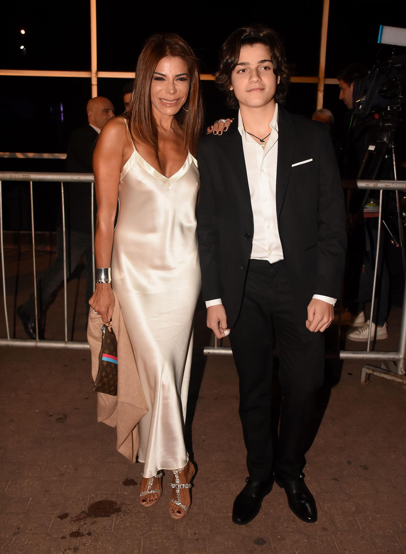 Zulemita Menem y su hijo Luca