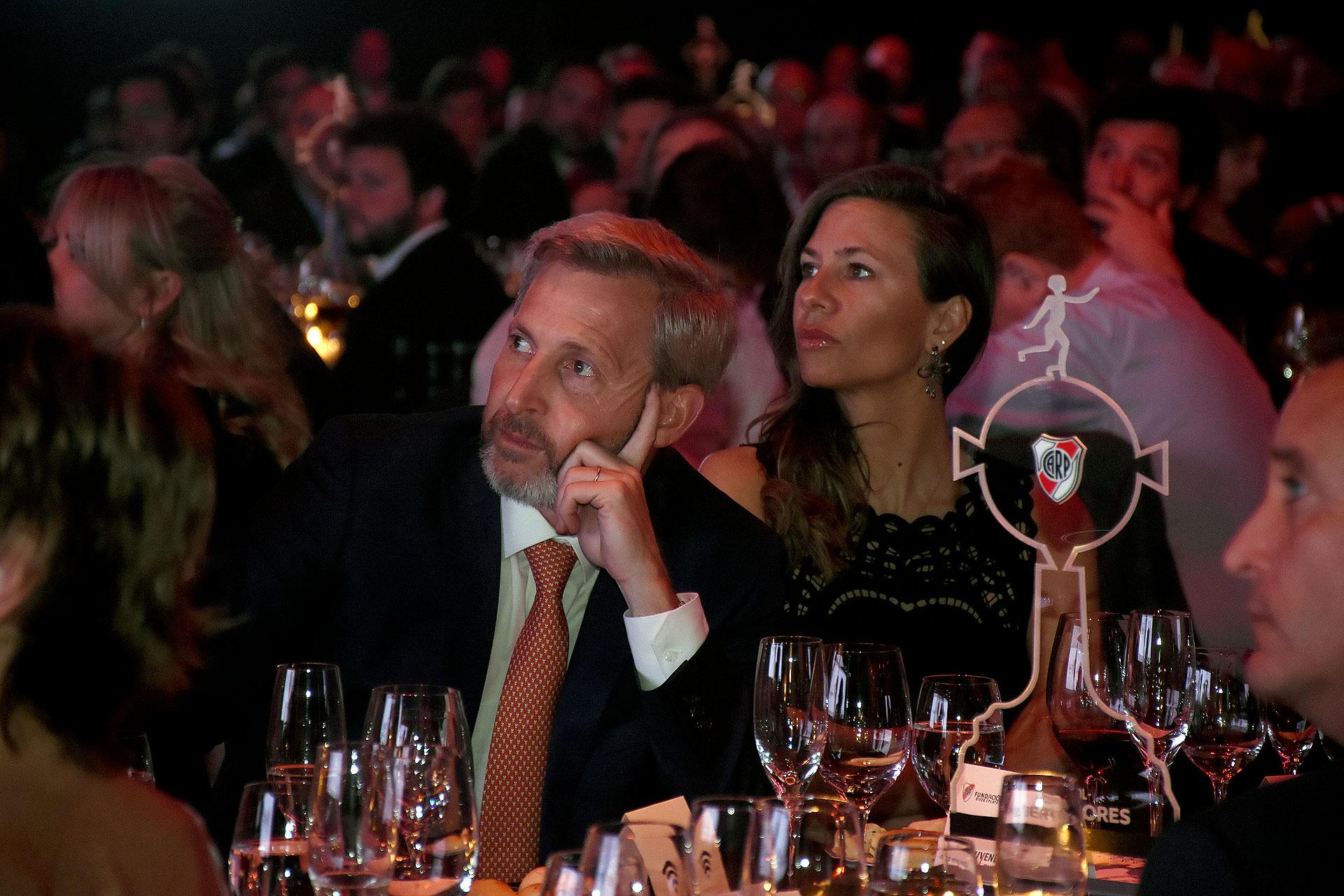 Rogelio Frigerio y su mujer, Victoria Costoya