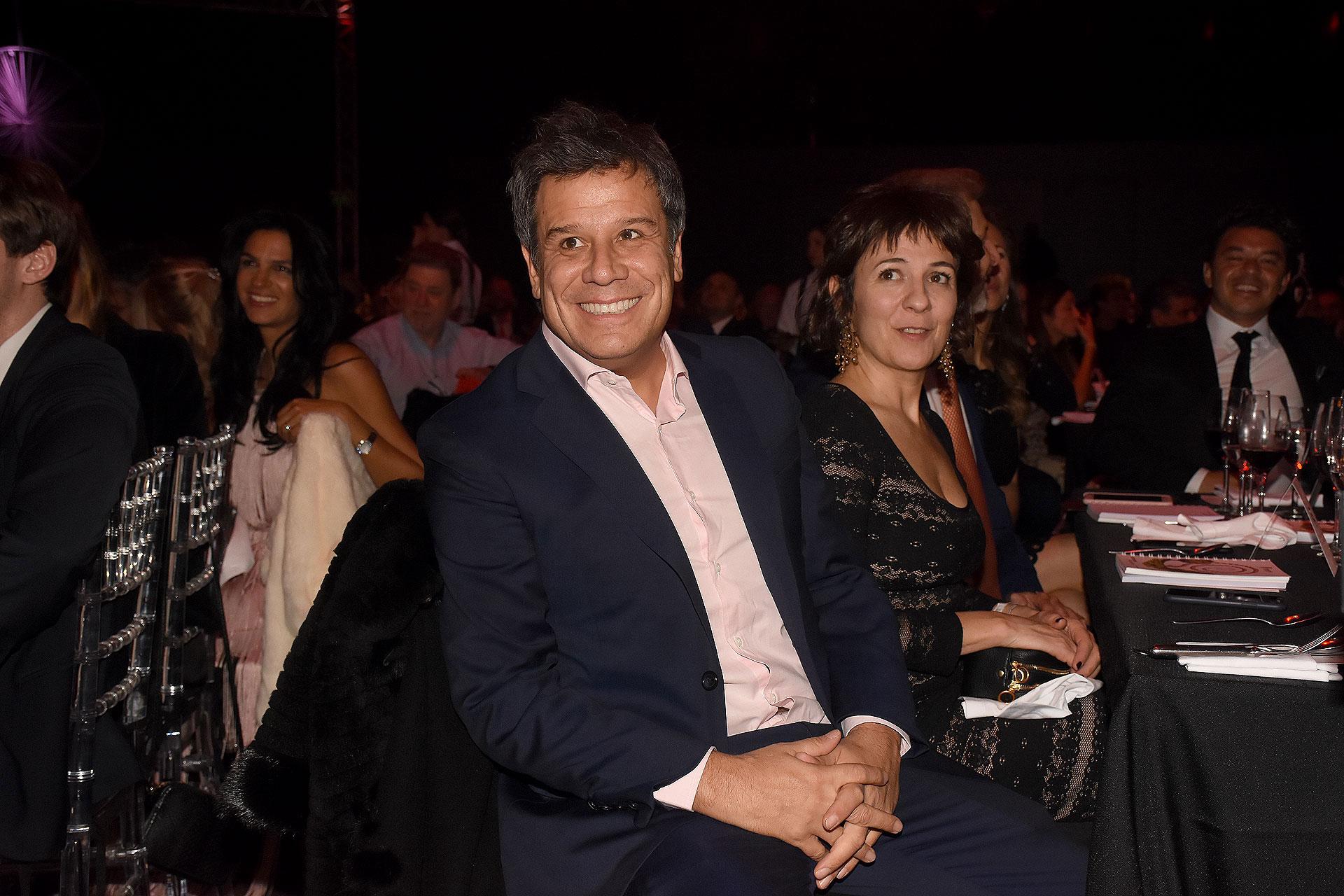 El neurocientífico Facundo Manes y su mujer Josefina